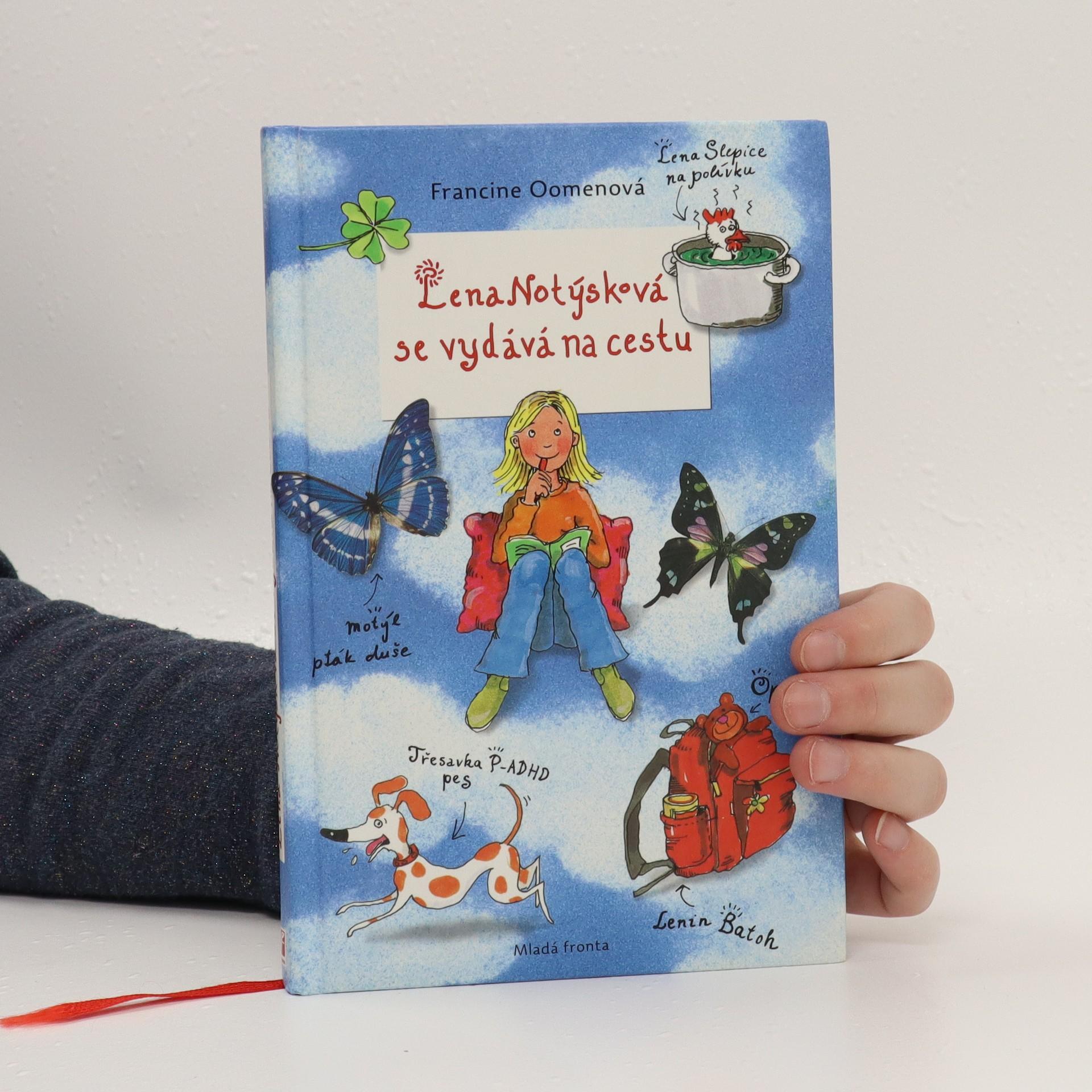 antikvární kniha Lena Notýsková se vydává na cestu, 2016