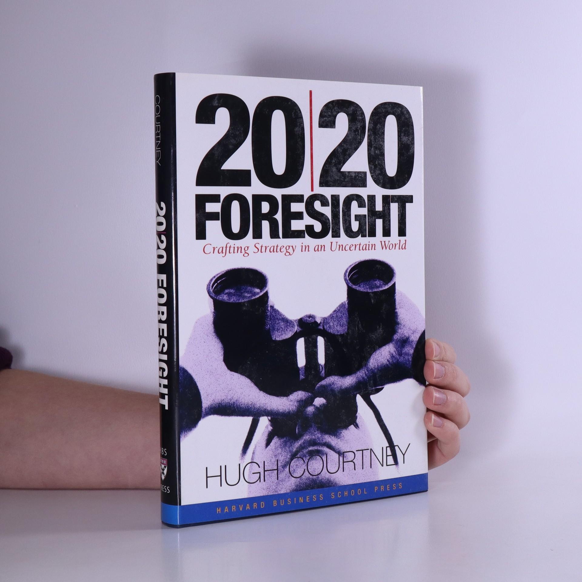 antikvární kniha 20/20 Foresight, 2001