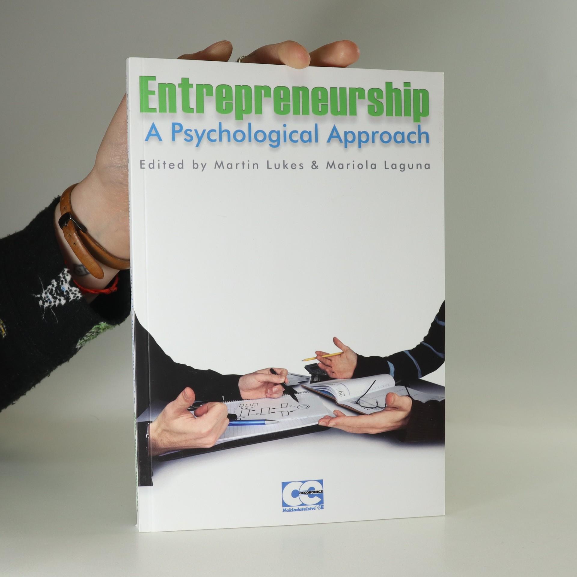 antikvární kniha Entrepreneurship. A Psychological Approach, neuveden