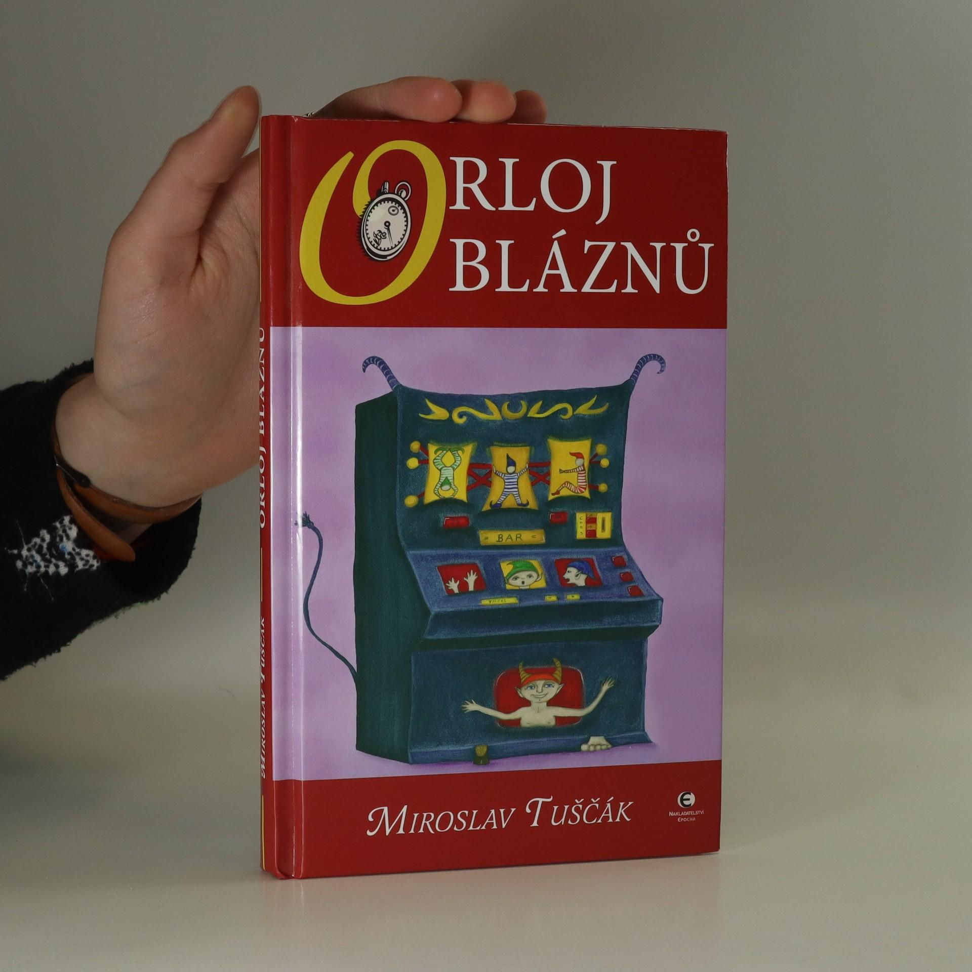 antikvární kniha Orloj bláznů, 2008