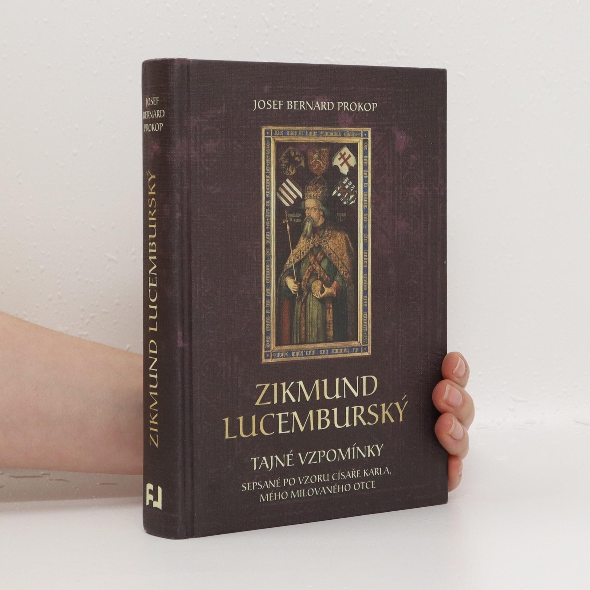 antikvární kniha Zikmund Lucemburský, neuveden