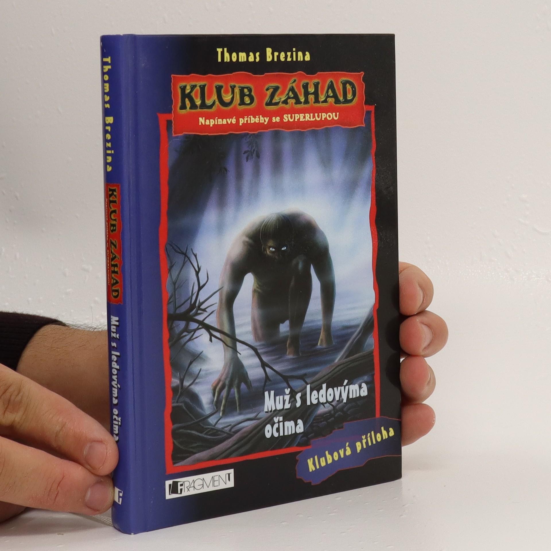 antikvární kniha Muž s ledovýma očima, 2005