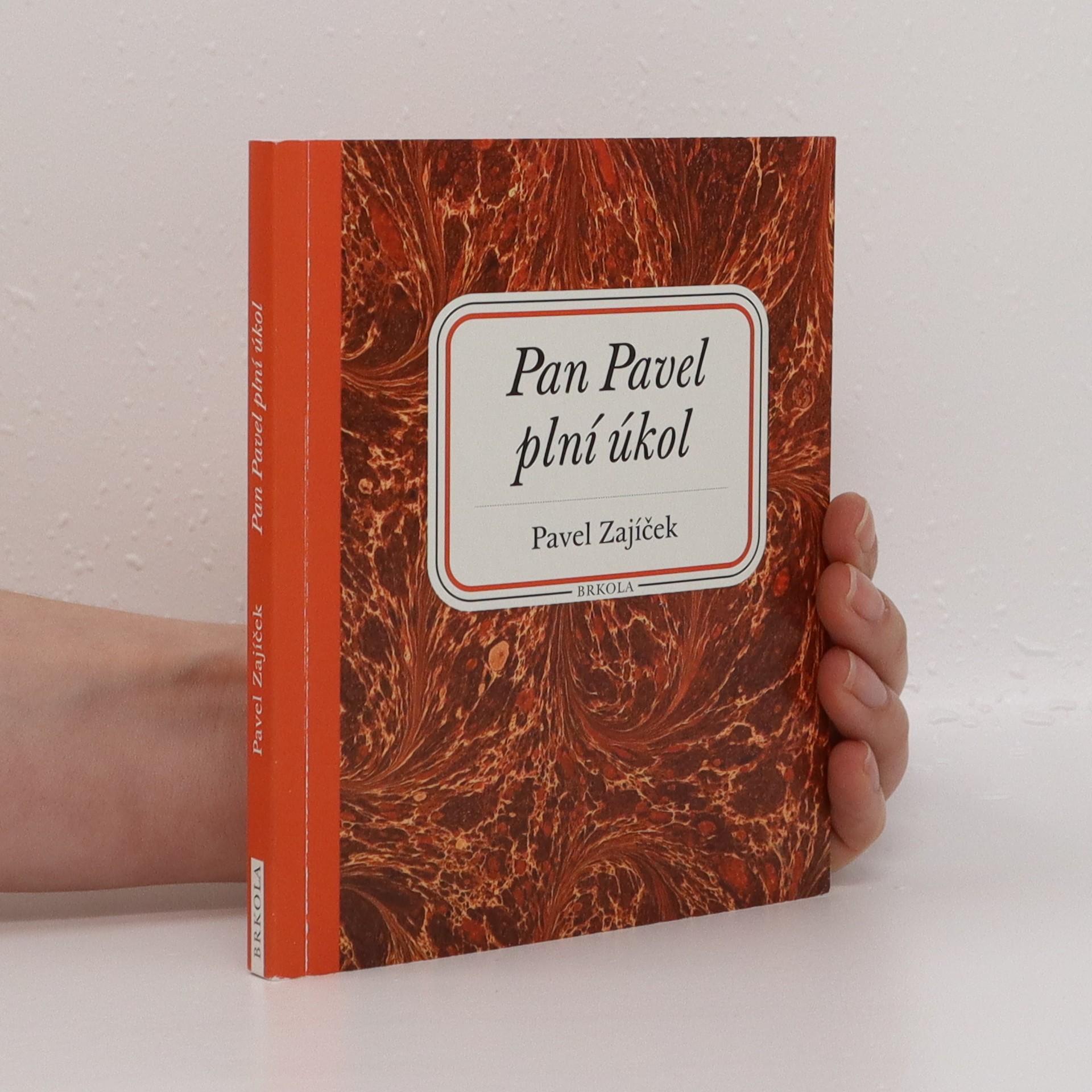 antikvární kniha Pan Pavel plní úkol, 2015