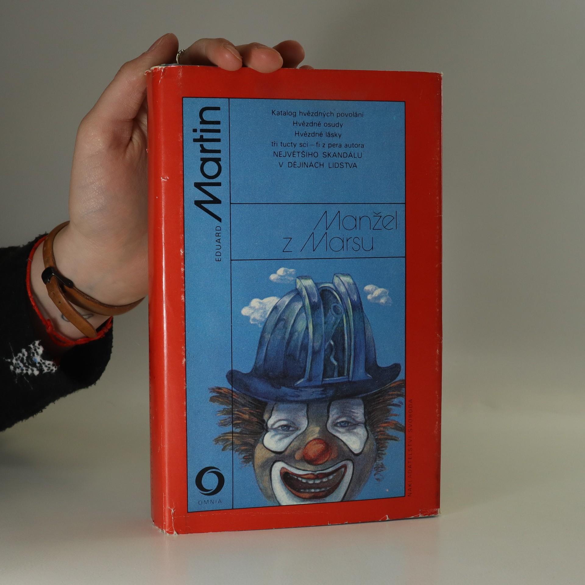 antikvární kniha Manžel z Marsu, 1986