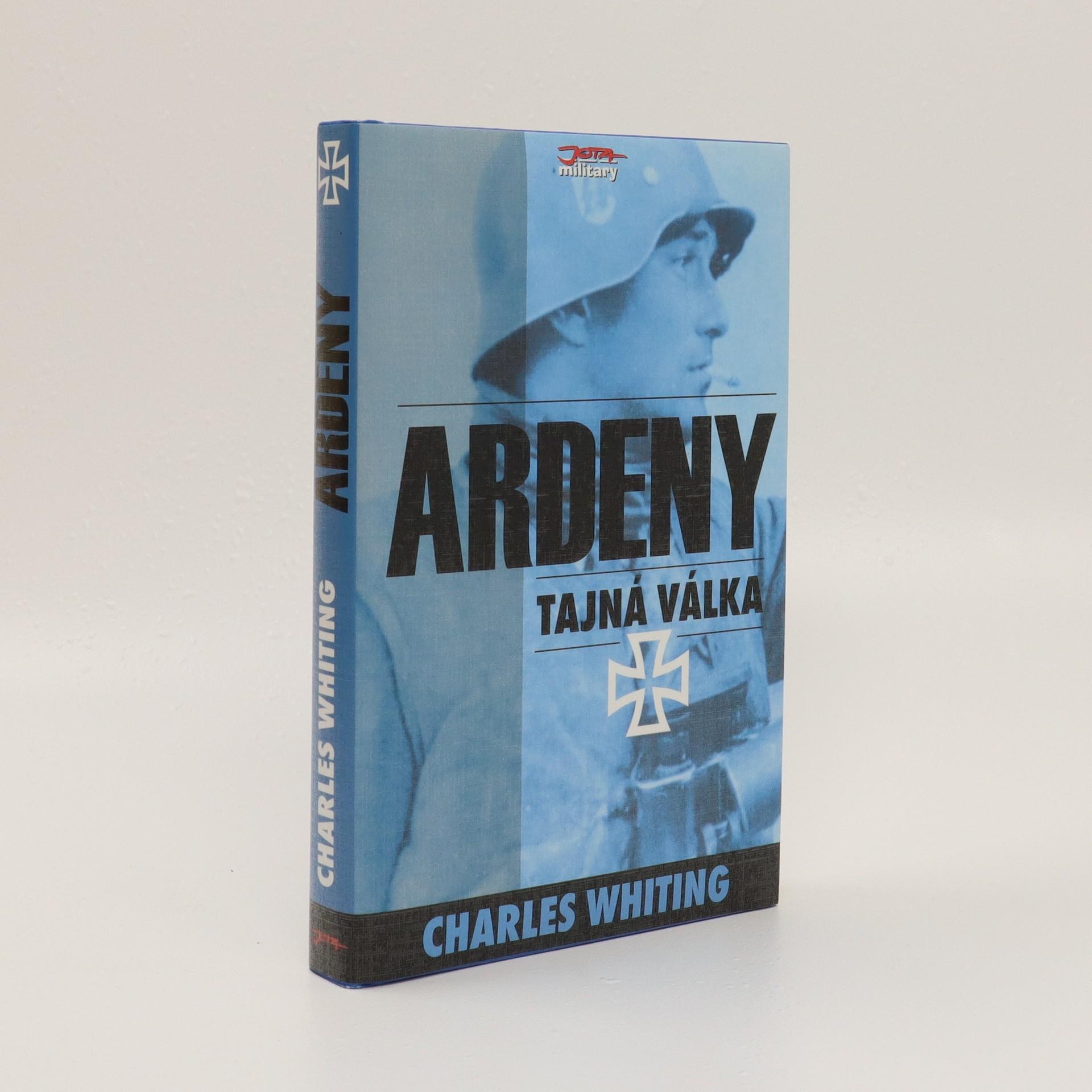 antikvární kniha Ardeny: tajná válka, 2002