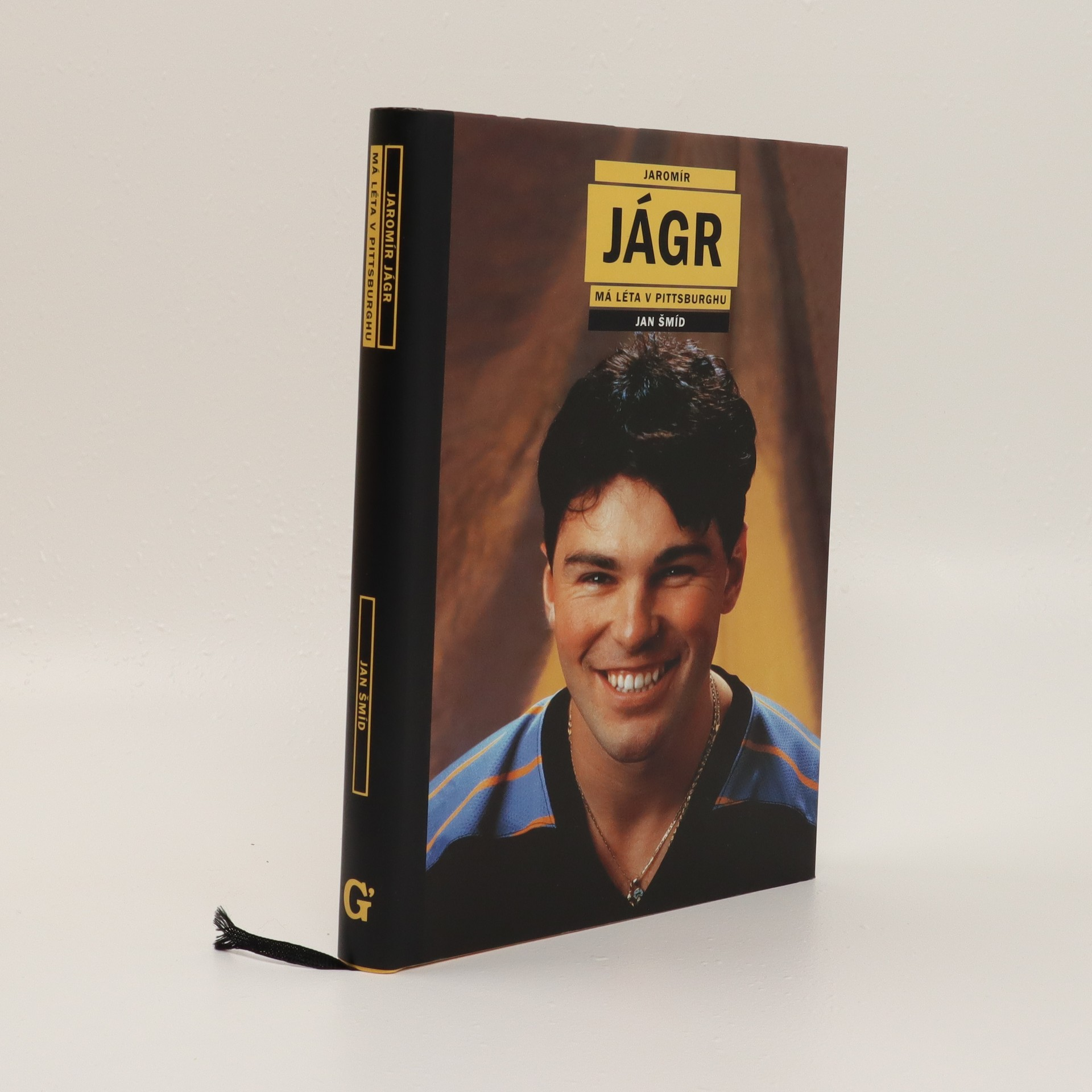 antikvární kniha Jaromír Jágr. Vlastní životopis. Má léta v Pittsburghu, 2001