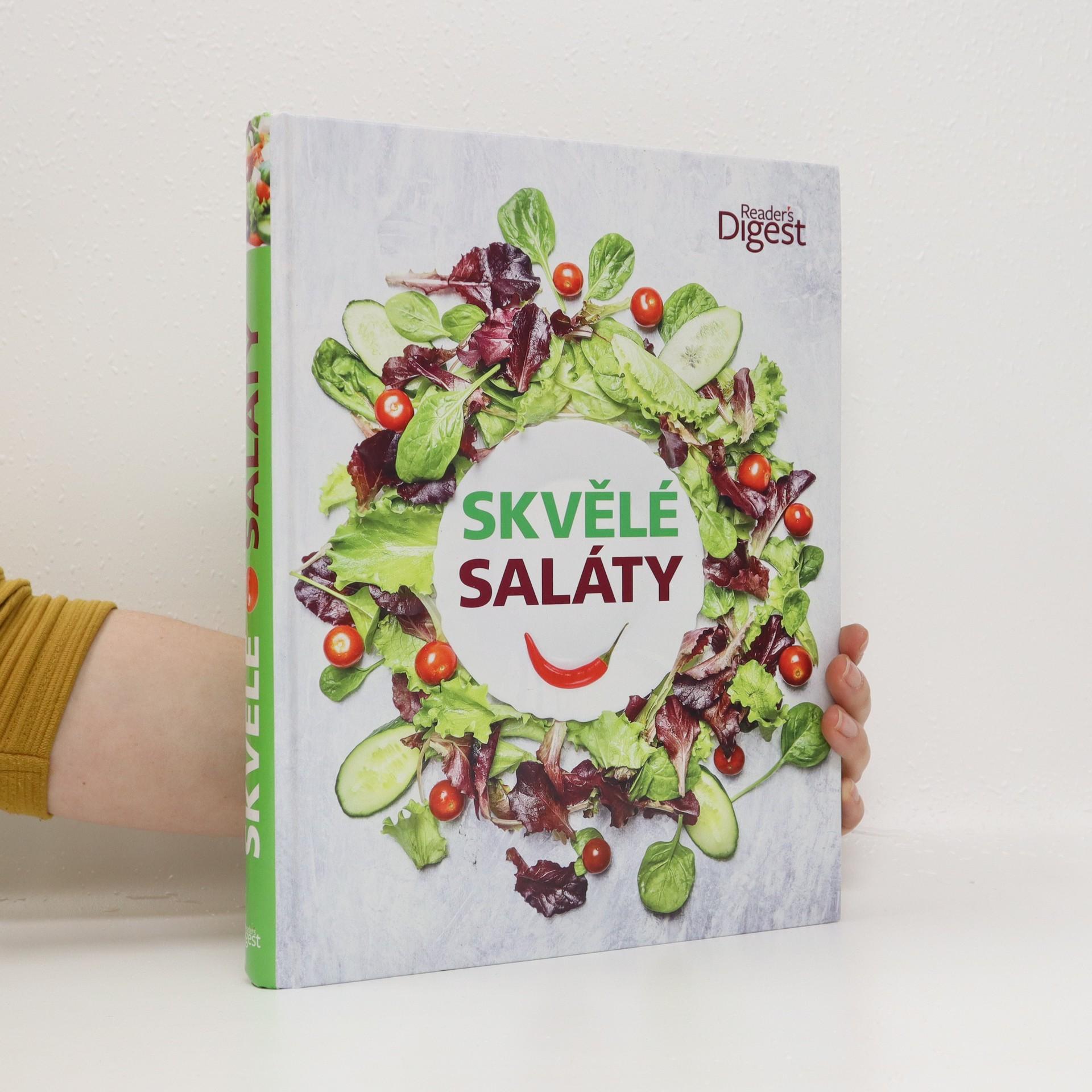 antikvární kniha Skvělé saláty, 2016
