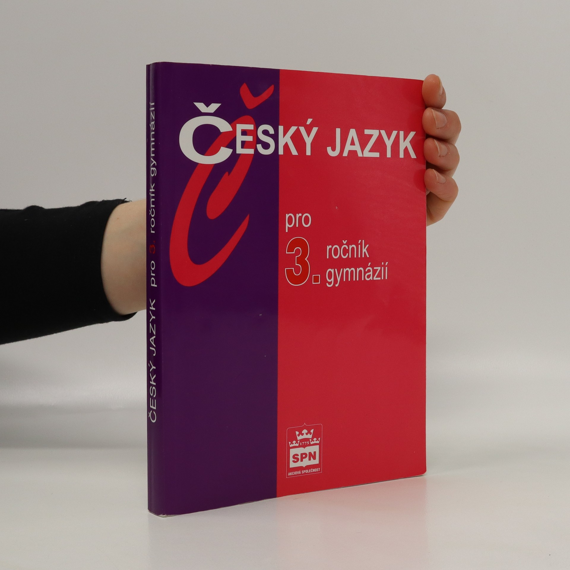 antikvární kniha Český jazyk pro 3. ročník gymnázií, 2002