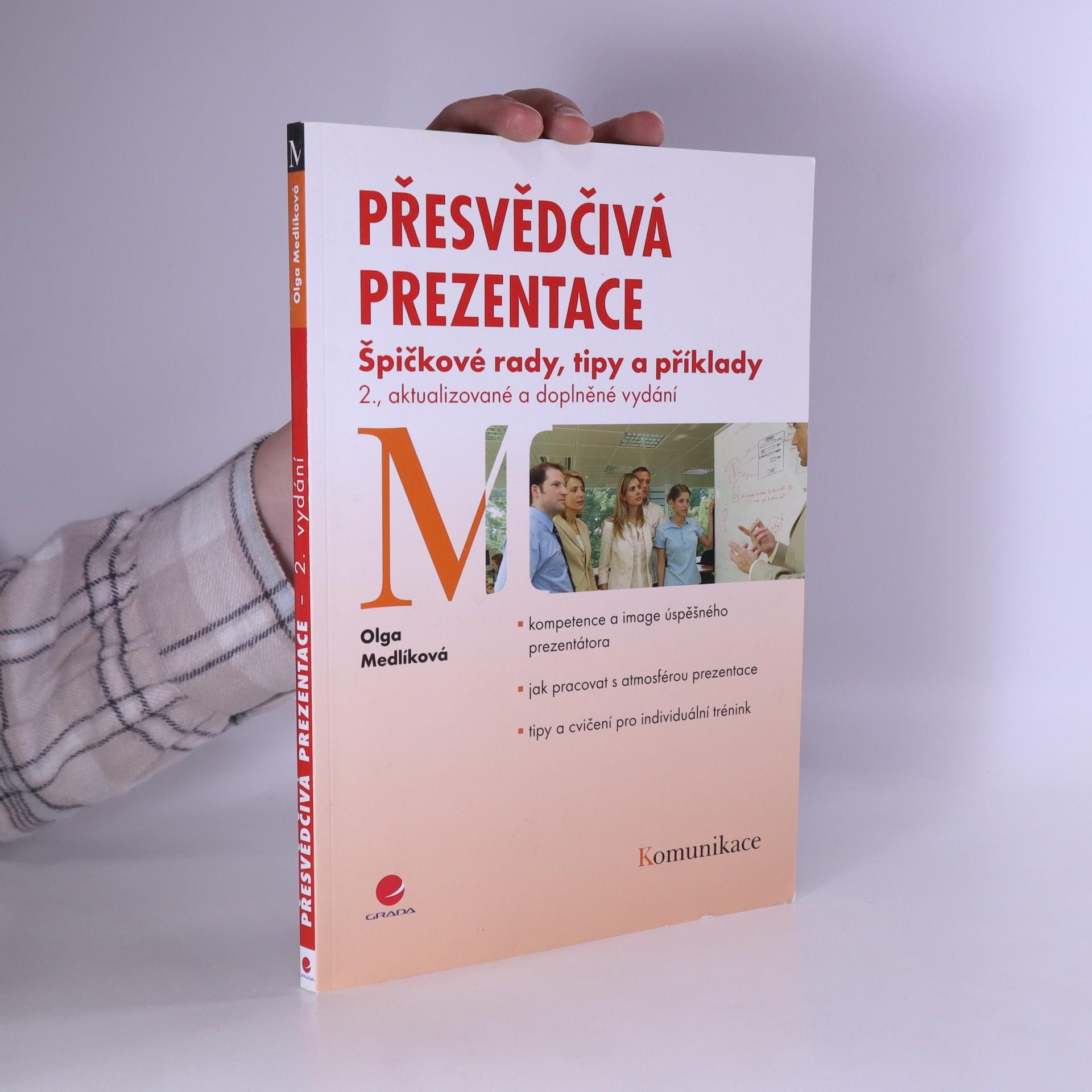 antikvární kniha Přesvědčivá prezentace, 2010