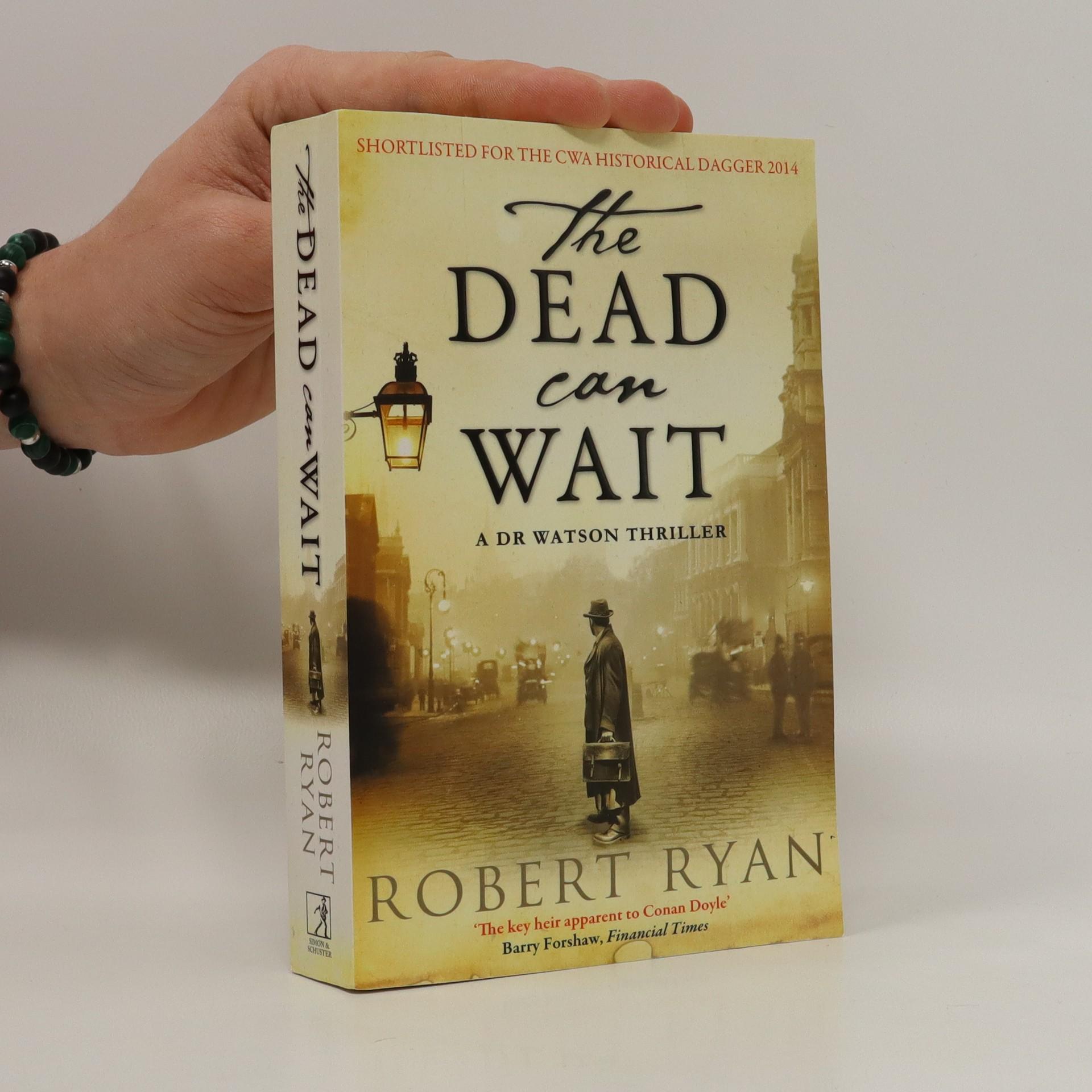 antikvární kniha The dead can wait, 2014