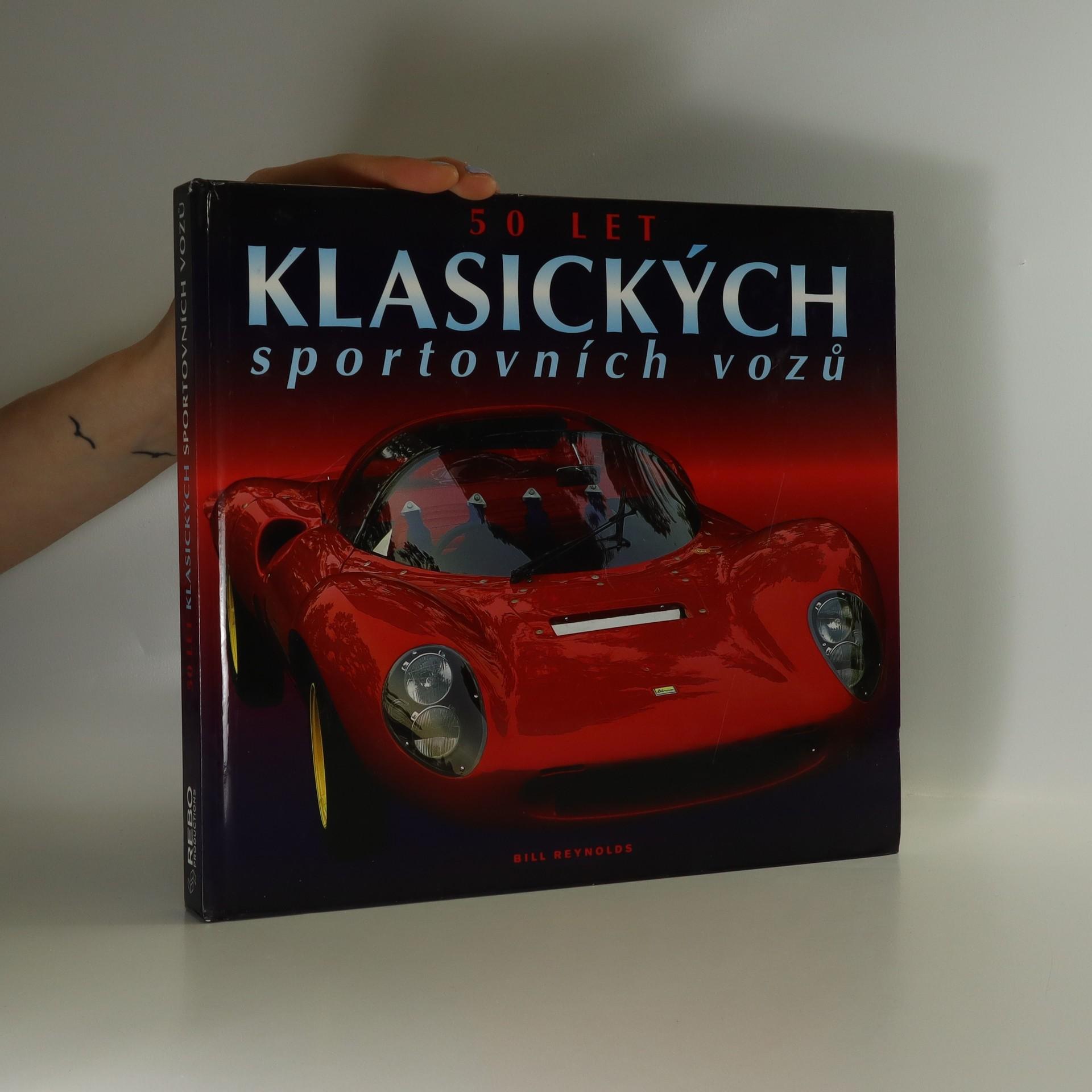 antikvární kniha 50 let klasických sportovních vozů, 1998