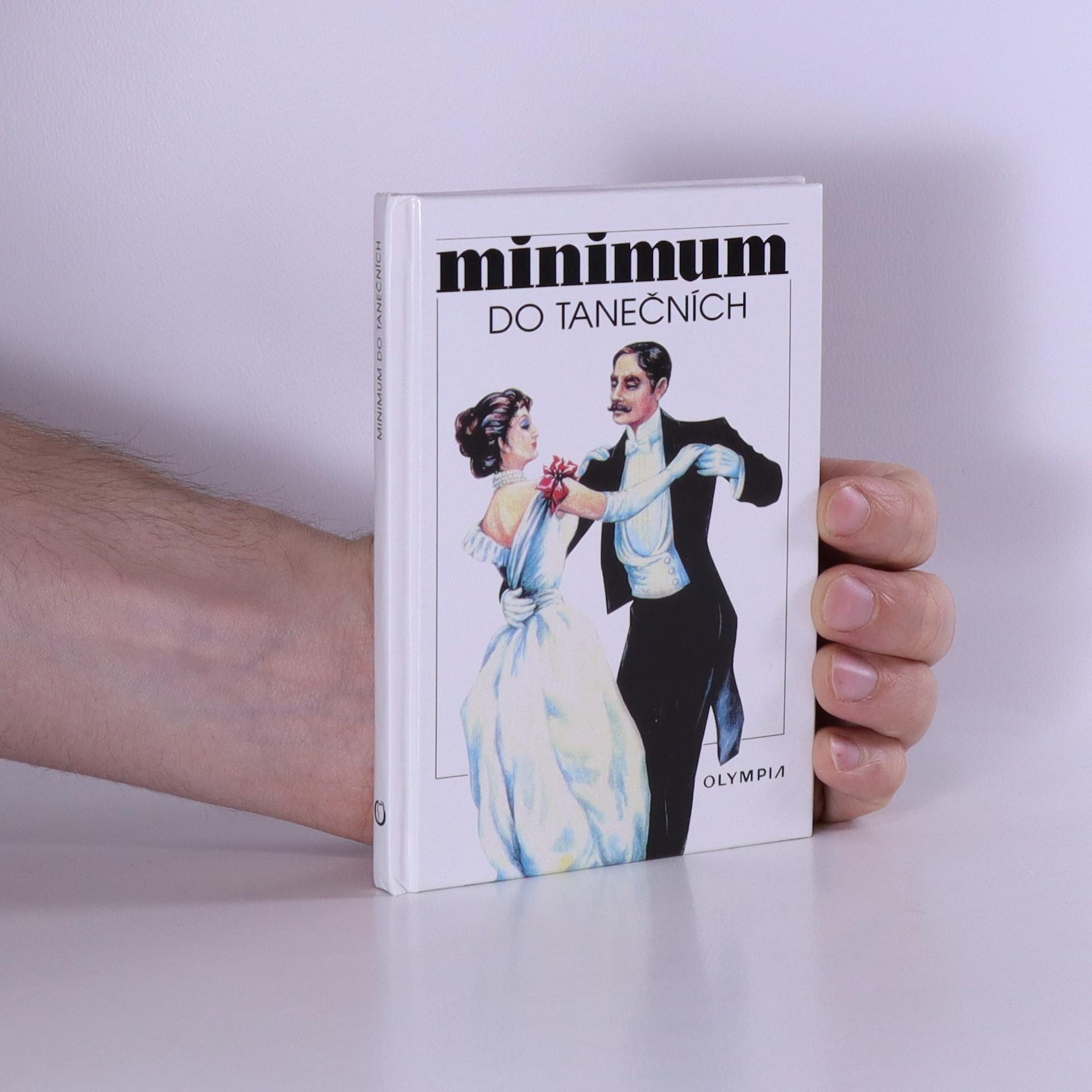 antikvární kniha Minimum do tanečních, neuveden