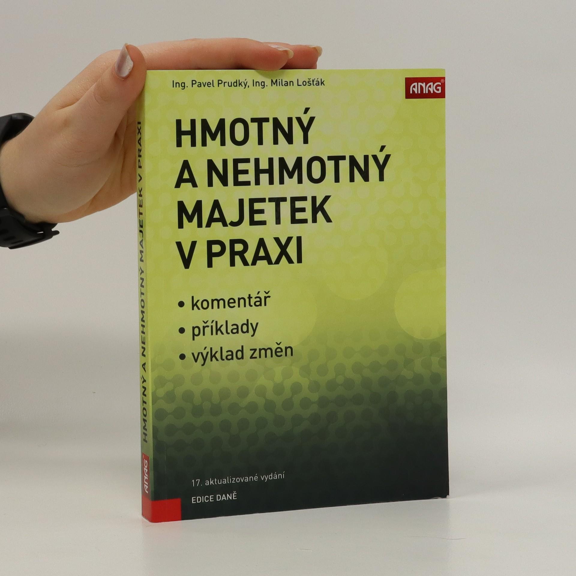 antikvární kniha Hmotný a nehmotný majetek v praxi, 2017