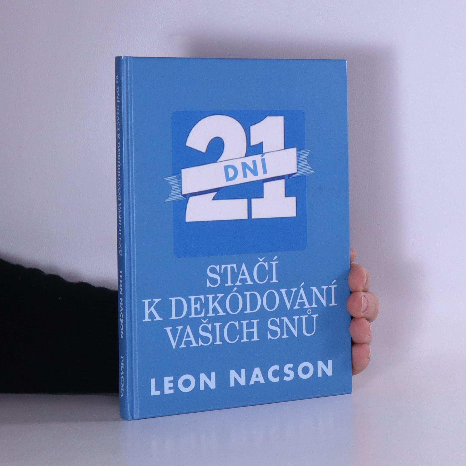 antikvární kniha 21 dní stačí k dekódování vašich snů, 2013