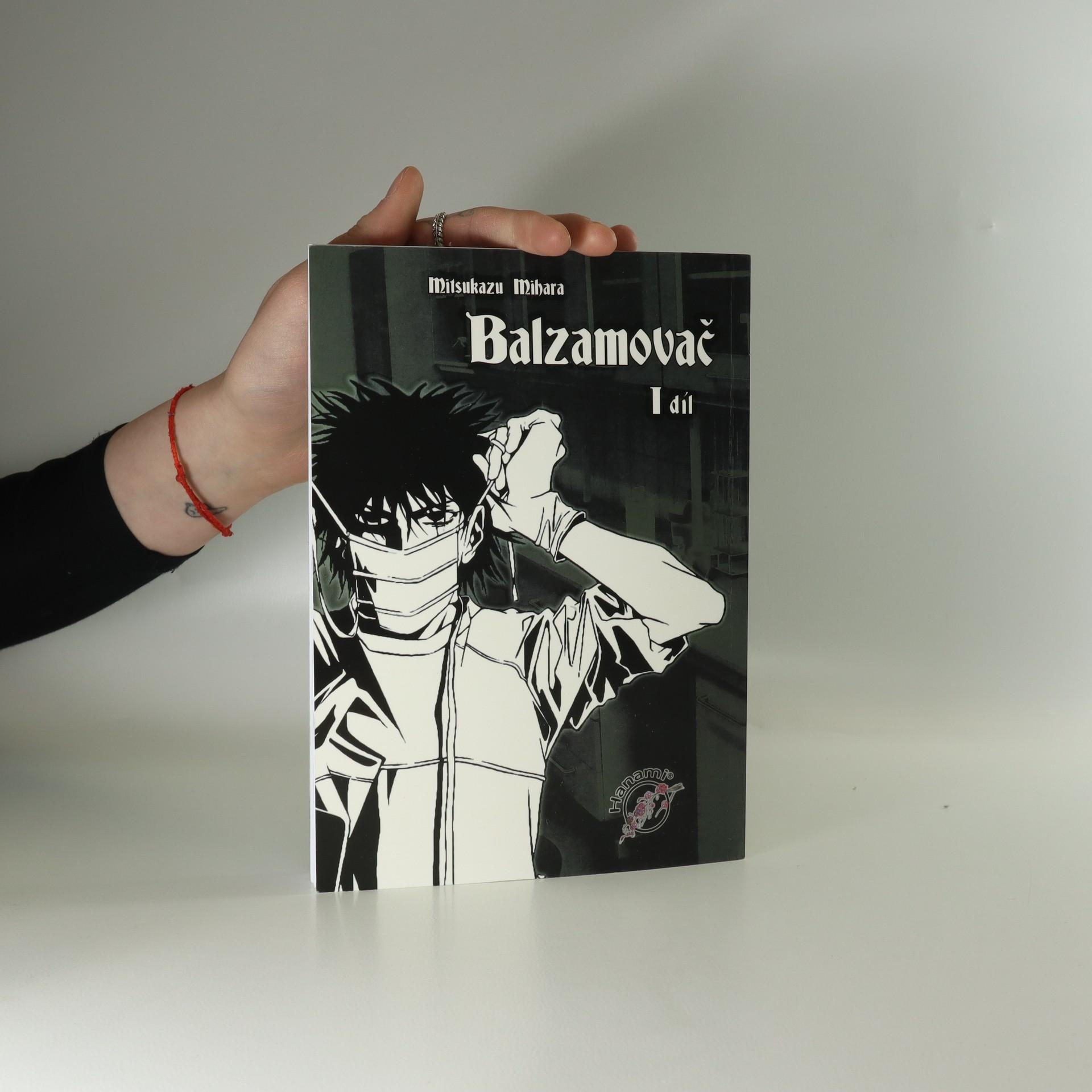 antikvární kniha Balzamovač 1, neuveden
