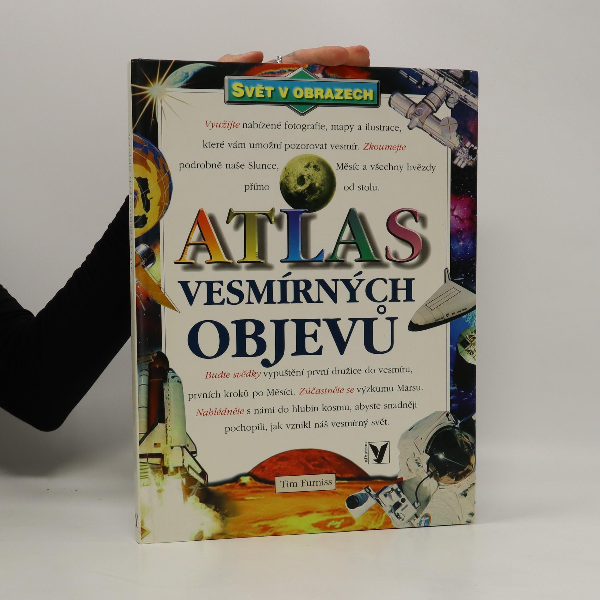 antikvární kniha Atlas vesmírných objevů, 2001