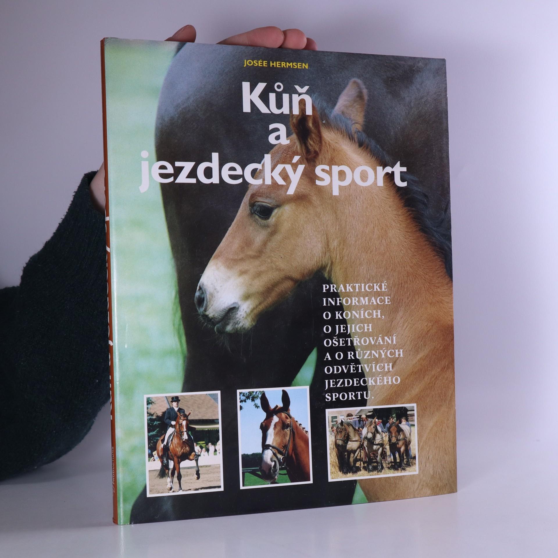 antikvární kniha Kůň a jezdecký sport, neuveden