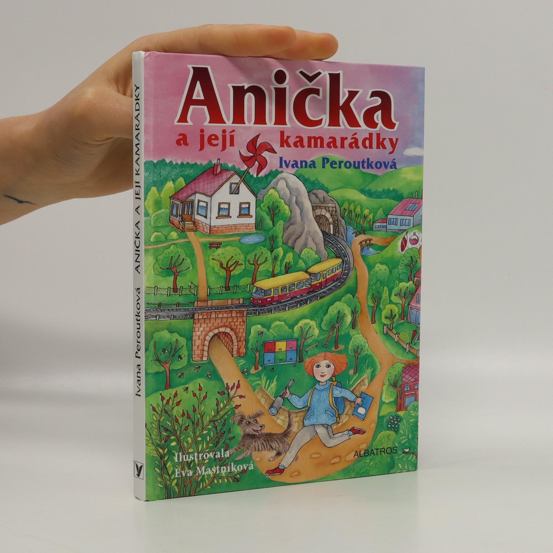 antikvární kniha Anička a její kamarádky, 2015