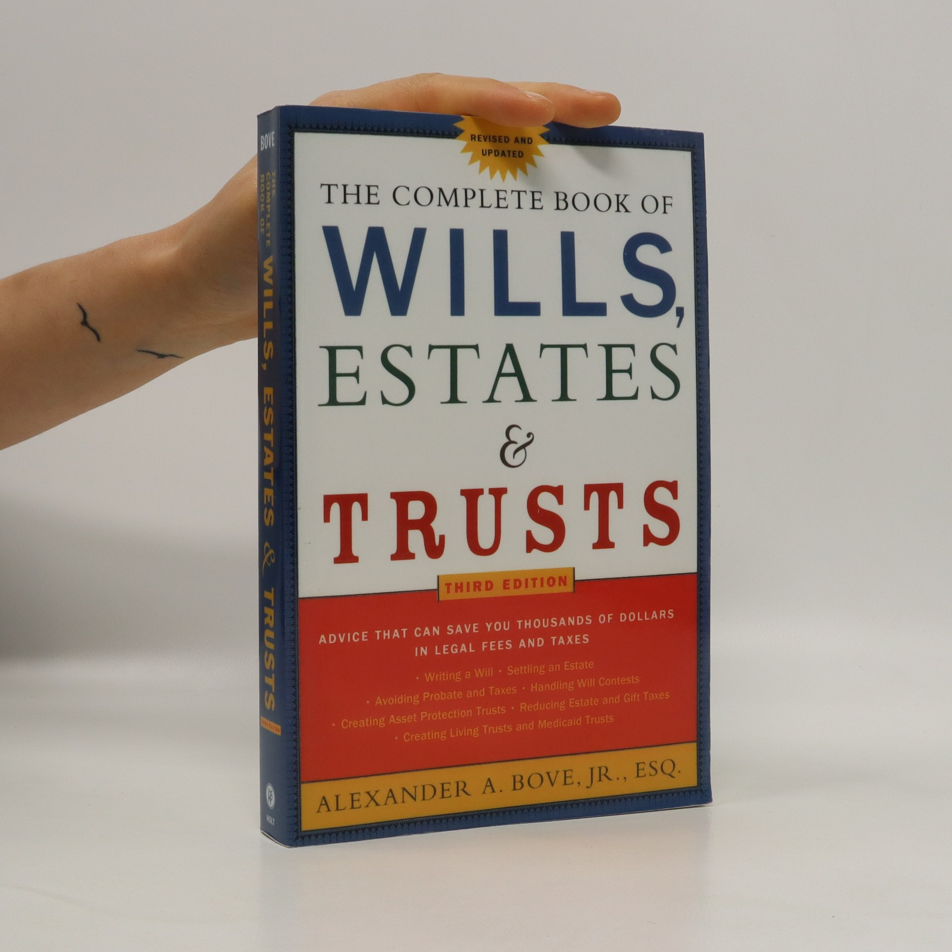 antikvární kniha The Complete Book of Wills, Estates & Trusts, 2005