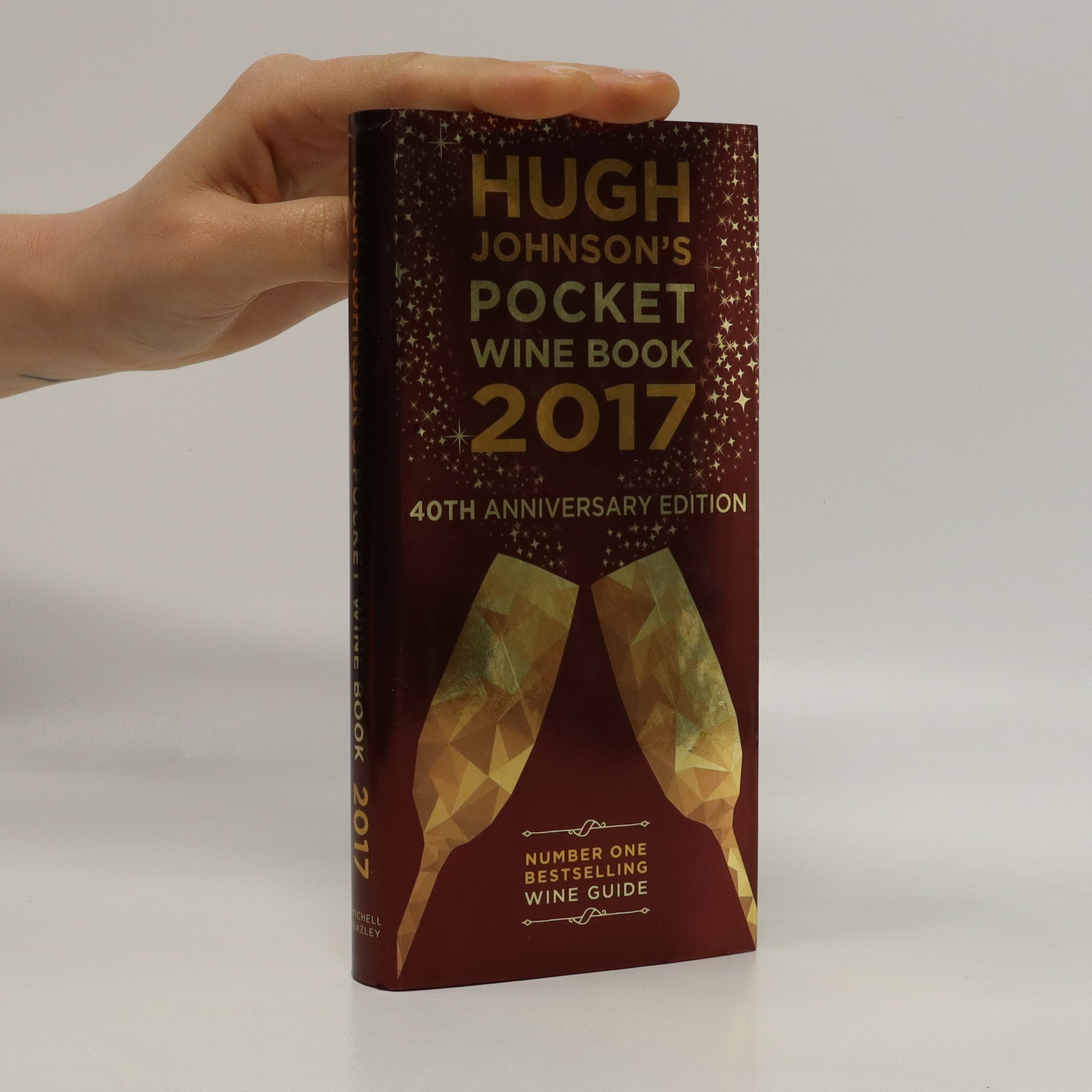 antikvární kniha Hugh Johnson's pocket wine book 2017, 2016
