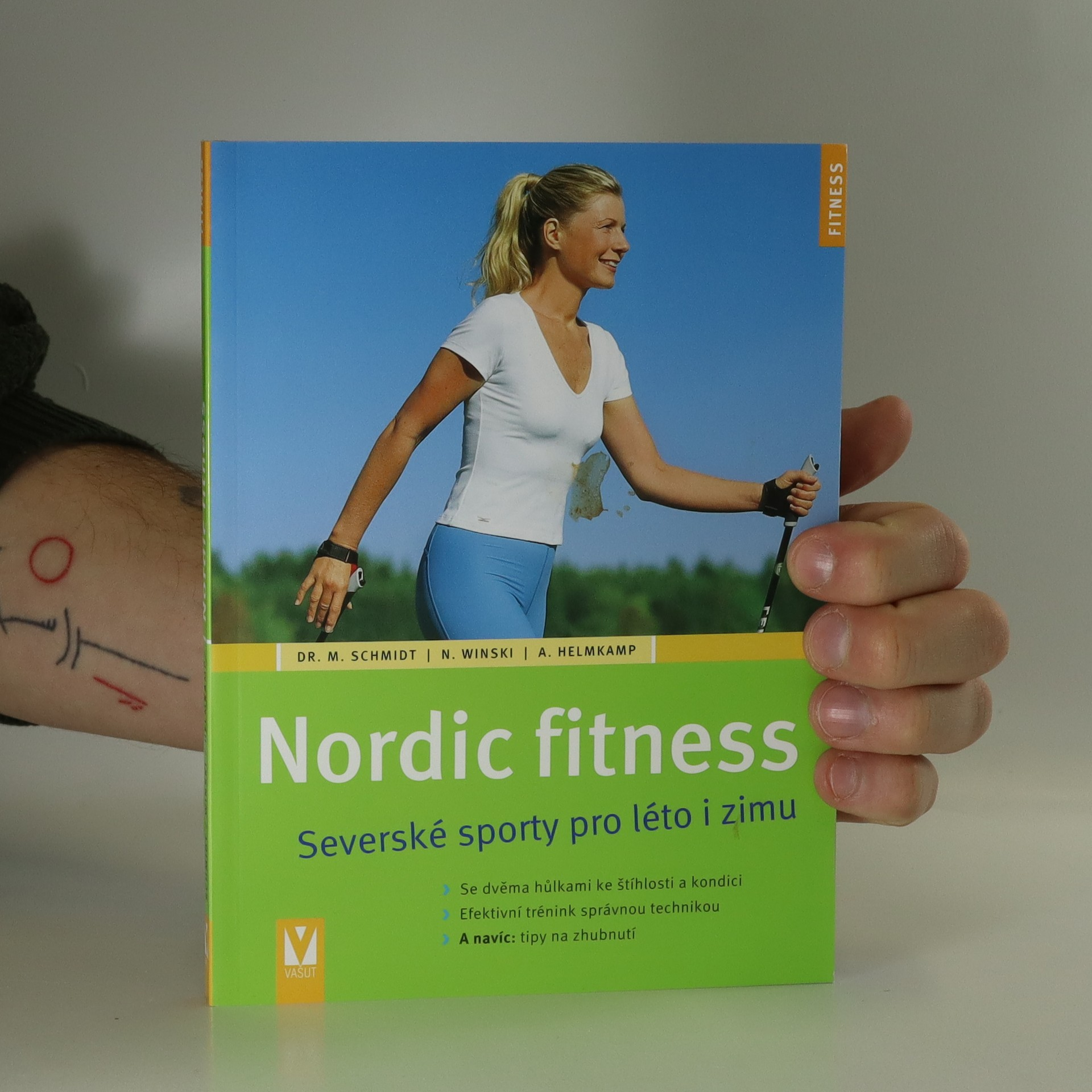 antikvární kniha Nordic fitness. Severské sporty na léto i zimu, 2010
