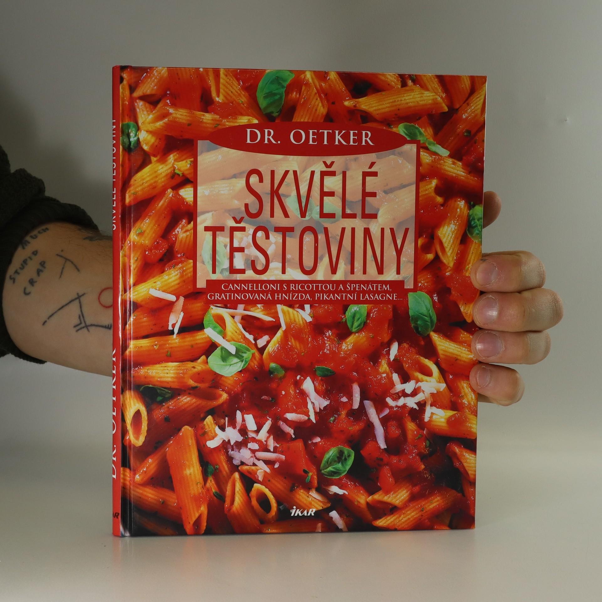antikvární kniha Skvělé těstoviny, 2004