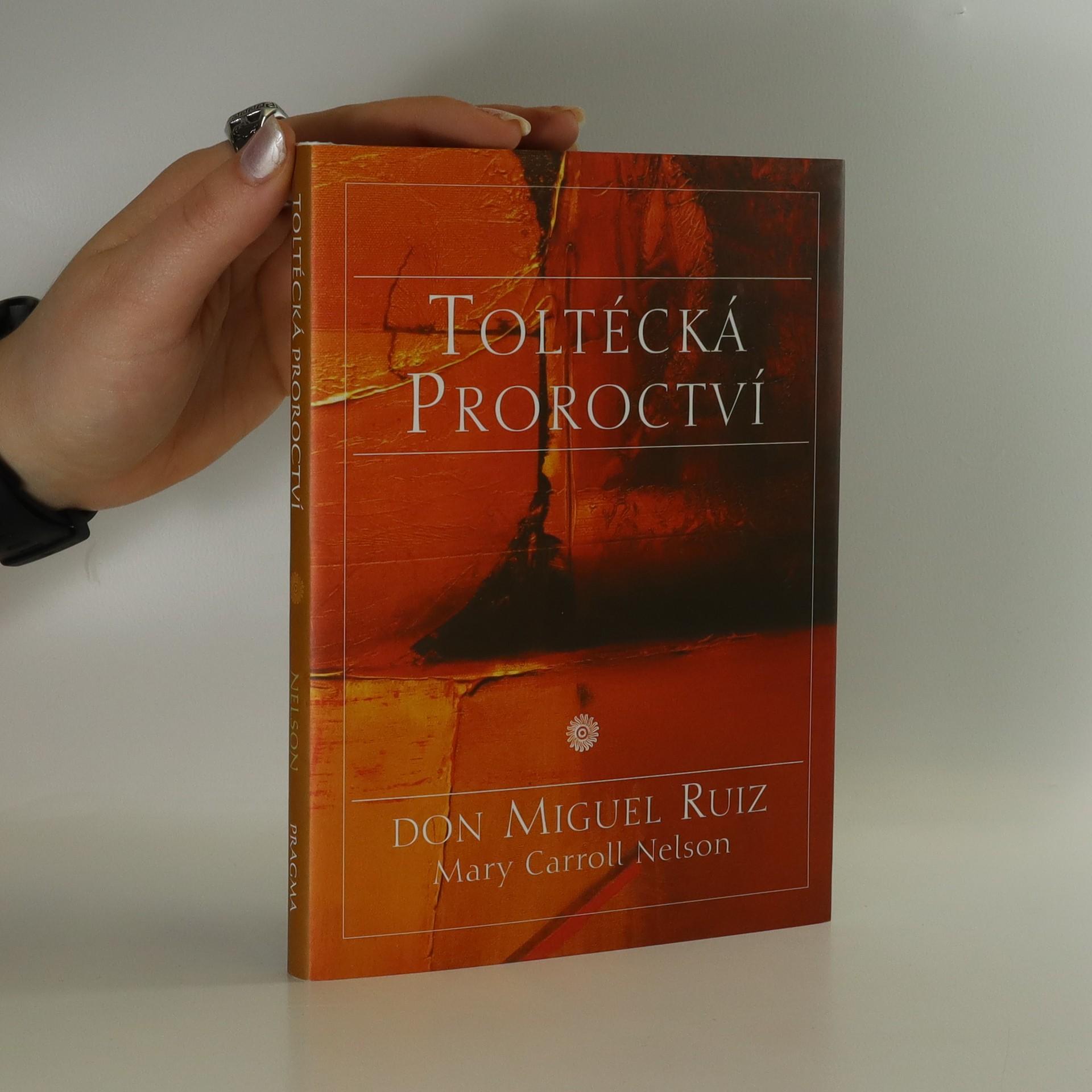 antikvární kniha Toltécká proroctví, neuveden
