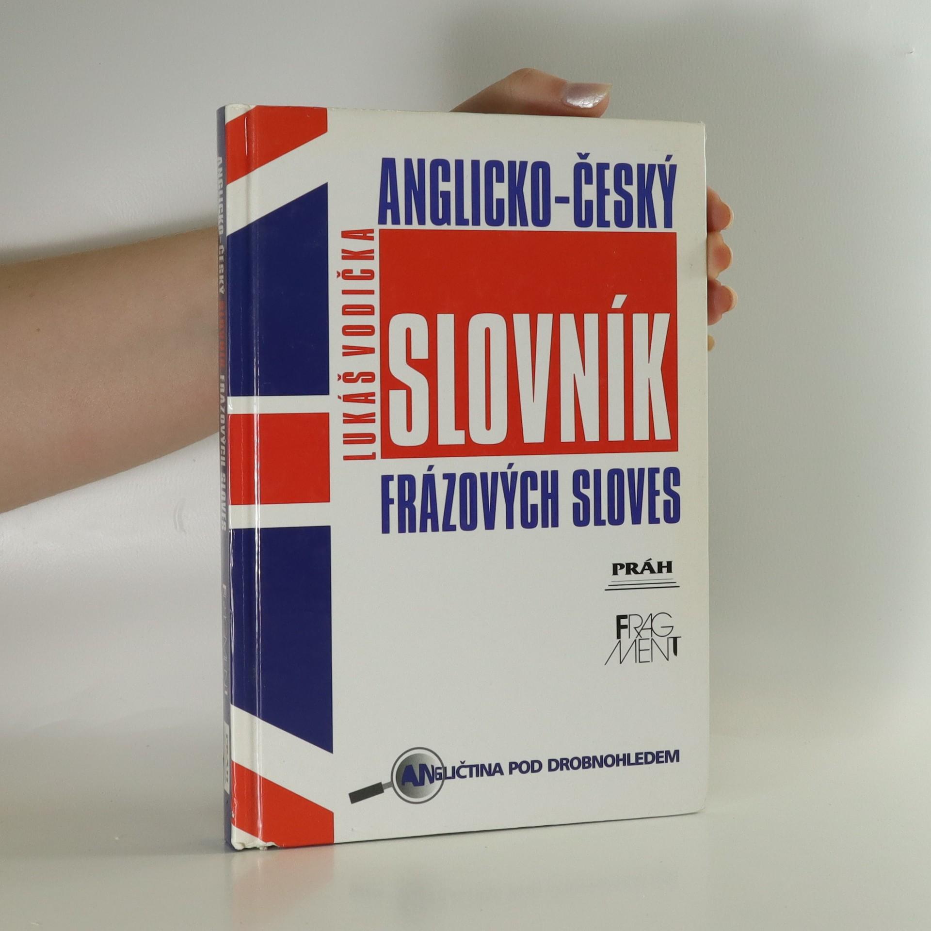 antikvární kniha Anglicko-český slovník frázových sloves, 2002