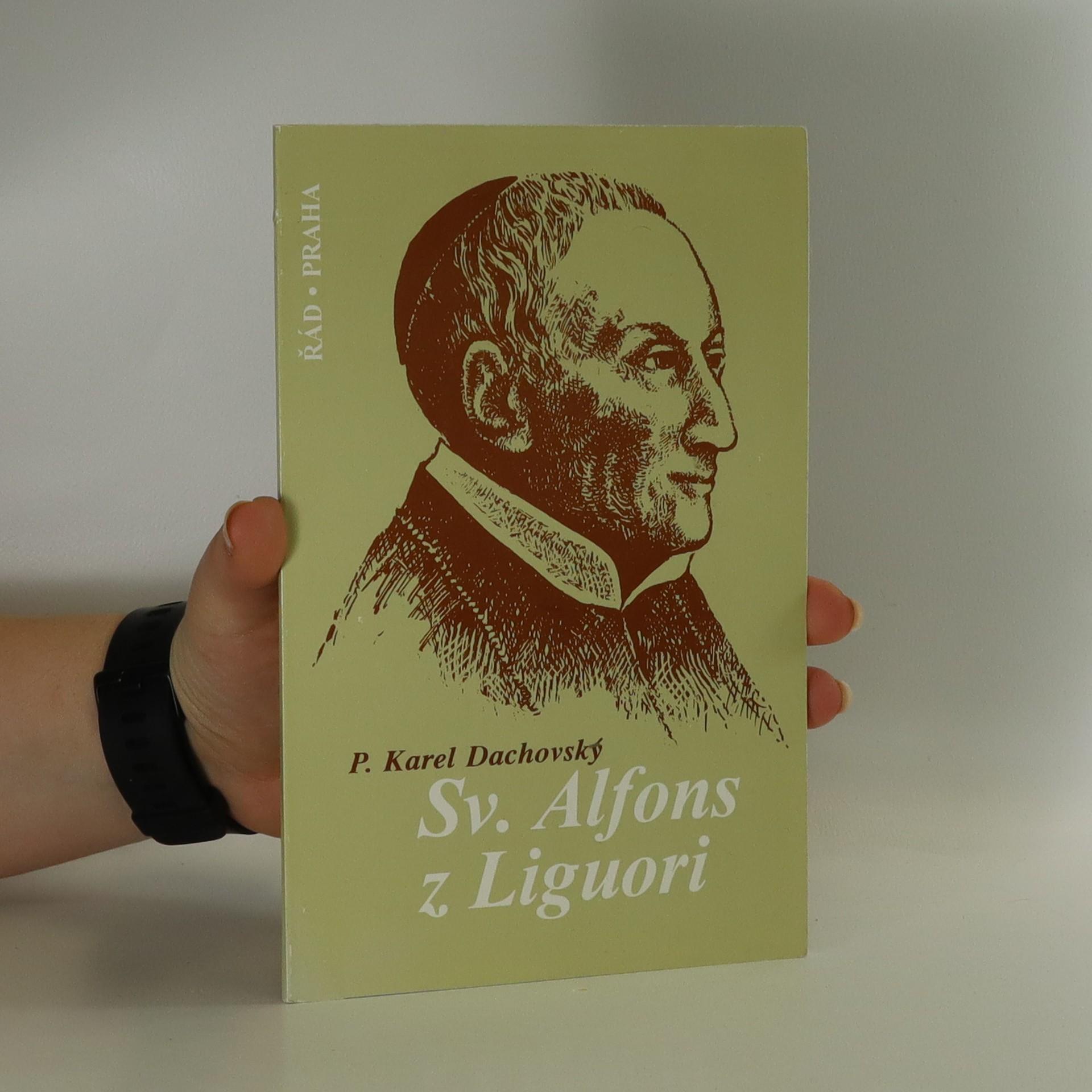 antikvární kniha Sv. Alfons z Liguori, 1996