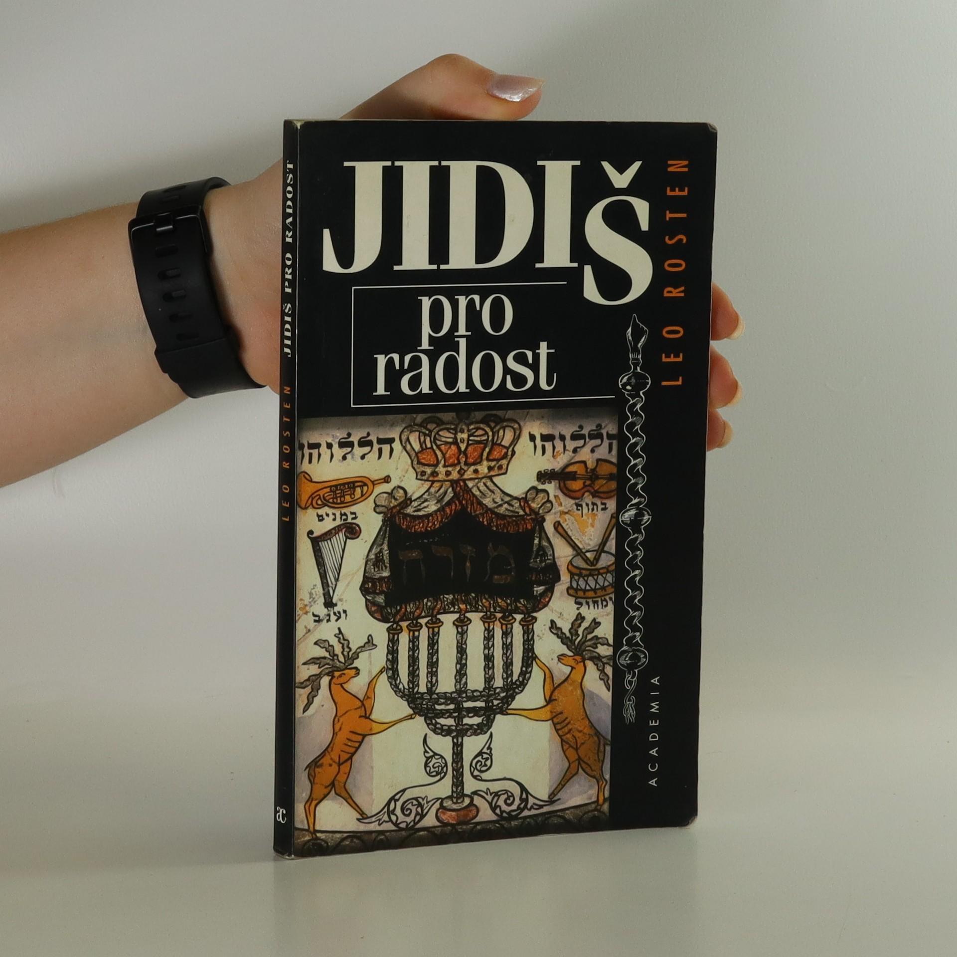antikvární kniha Jidiš pro radost, 1998
