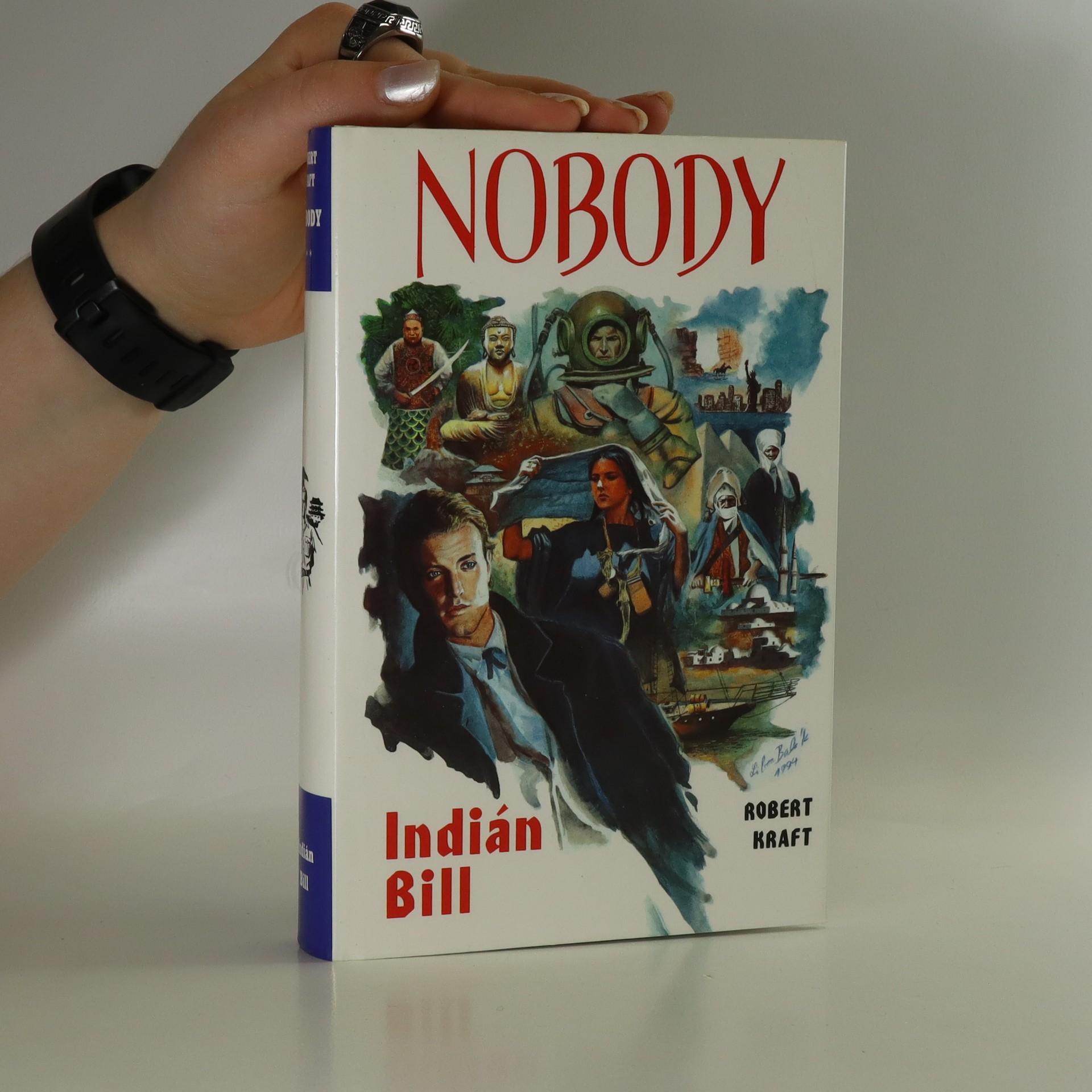 antikvární kniha Nobody. Indián Bill, 1994