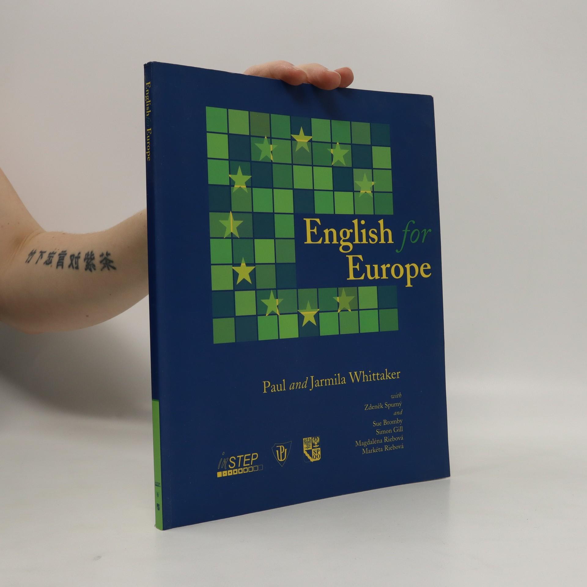 antikvární kniha English for Europe, 2002
