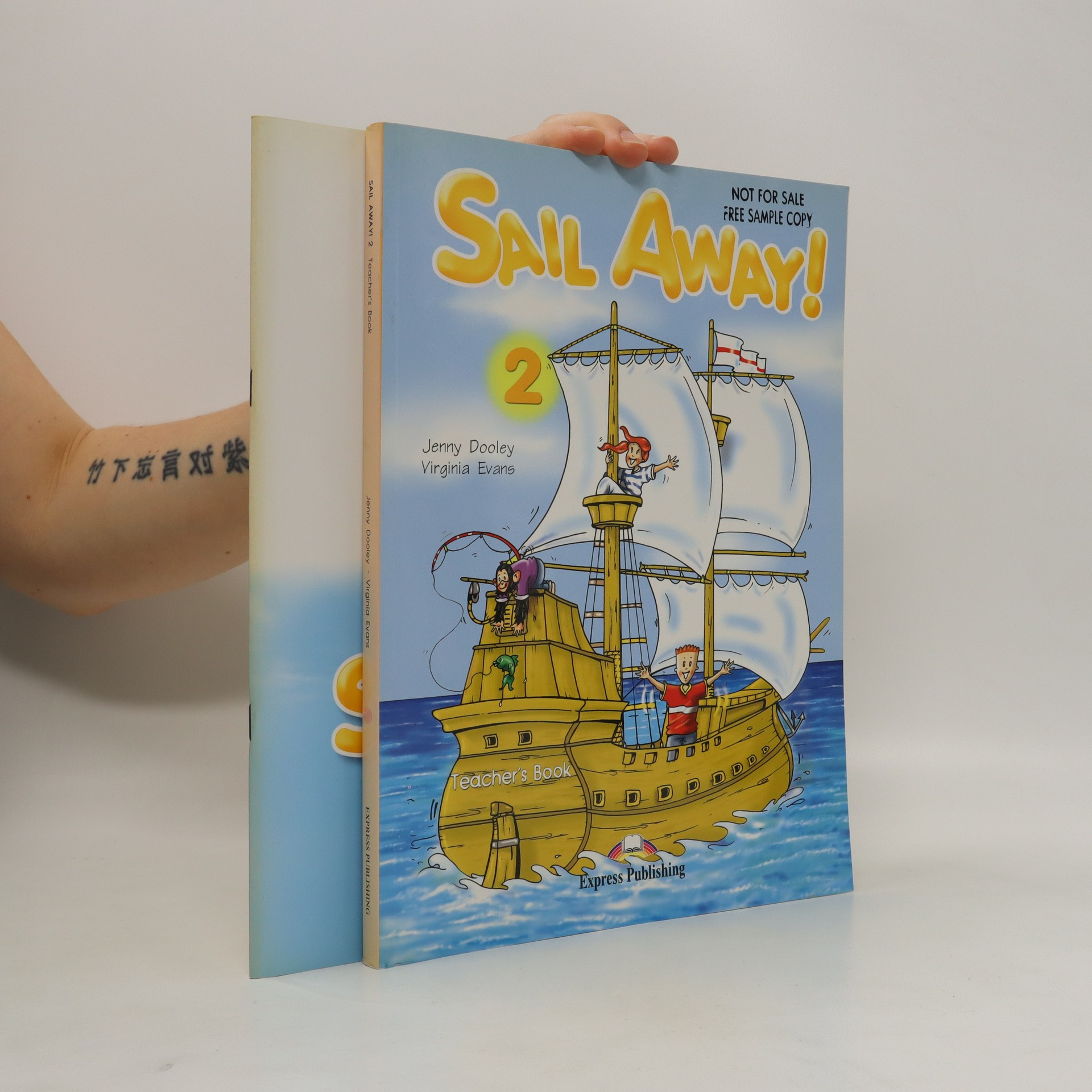 antikvární kniha Sail away! 2. Teacher's book. Activity book. (2 svazky), neuveden