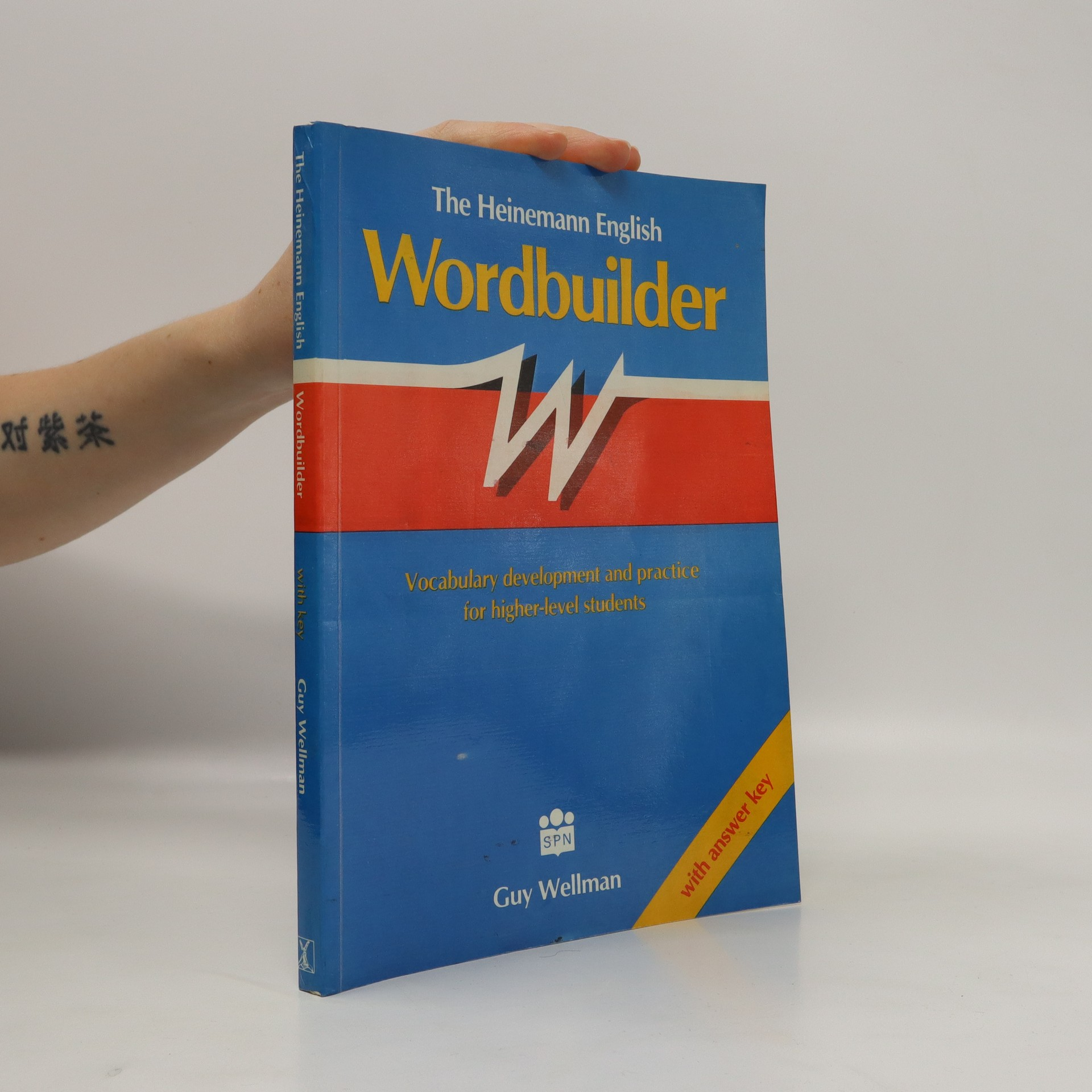 antikvární kniha The Heinemann English wordbuilder. Vocabulary development and practice for higher-level students. With answer key, 1991