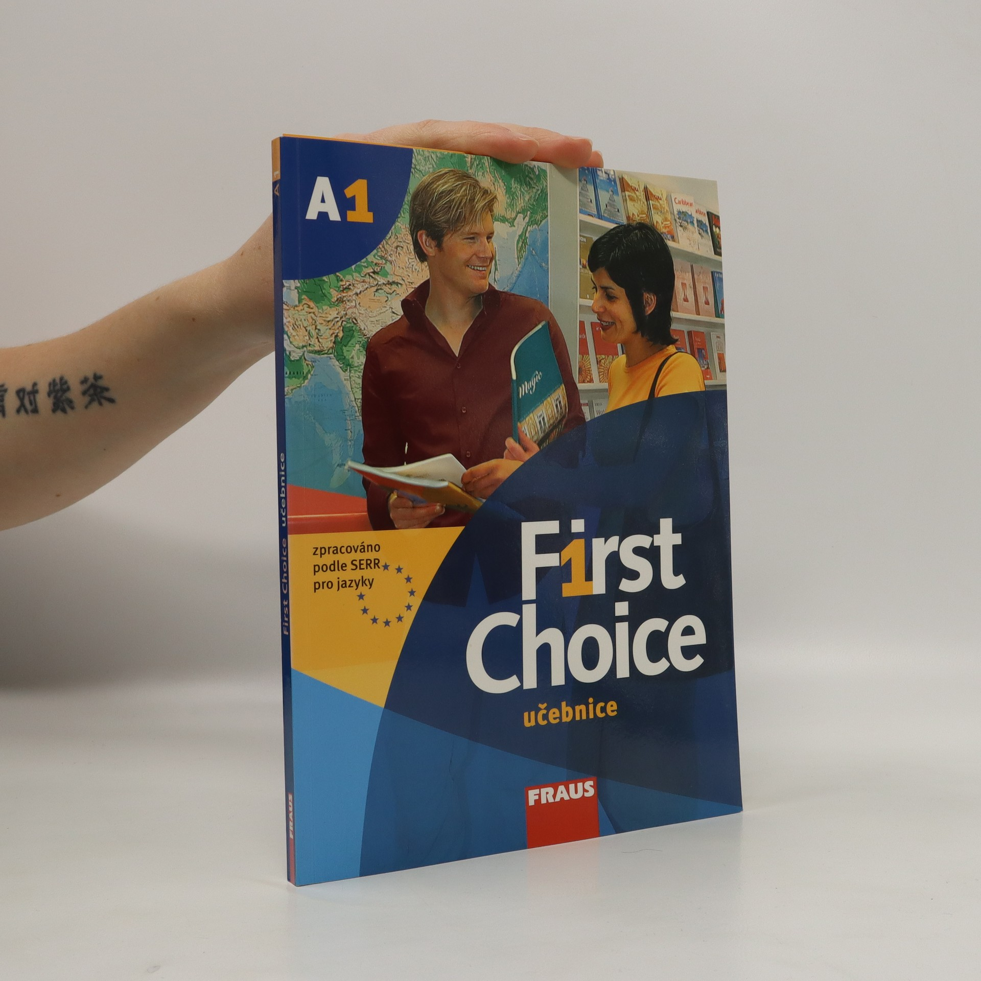 antikvární kniha First choice A1. Učebnice., neuveden
