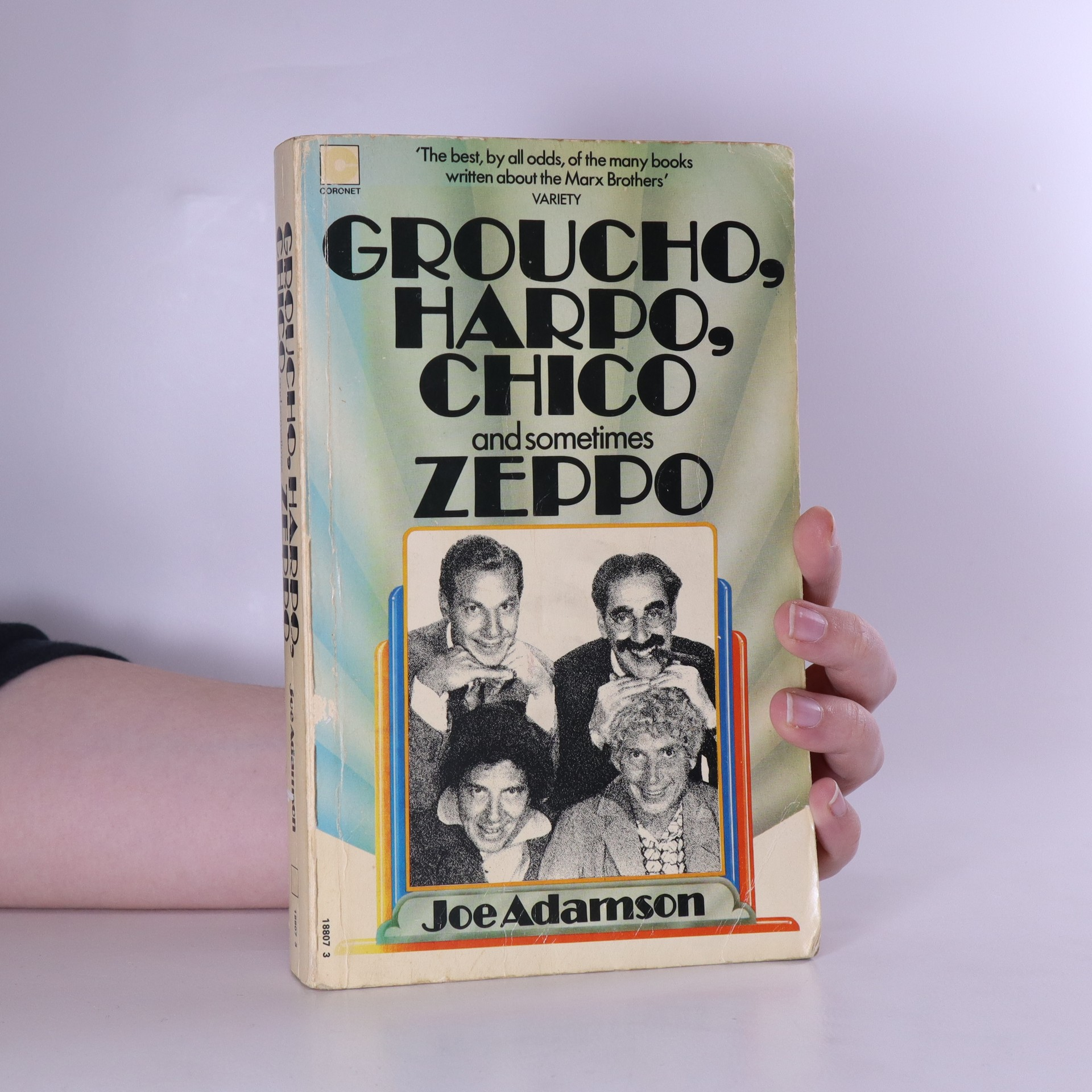 antikvární kniha Groucho, Harpo, Chico and sometimes Zeppo, 1974