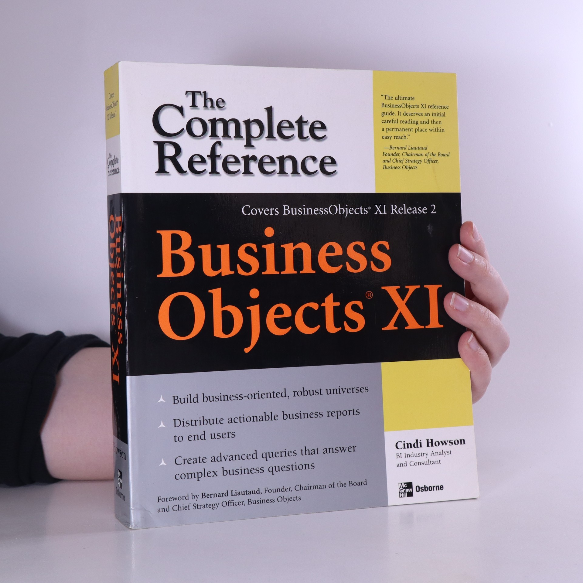 antikvární kniha Business Objects XI. Release 2. The complete reference, neuveden