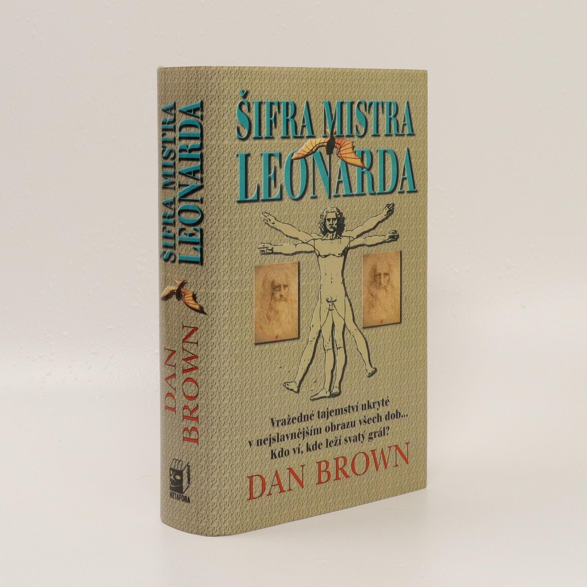antikvární kniha Šifra mistra Leonarda, 2003