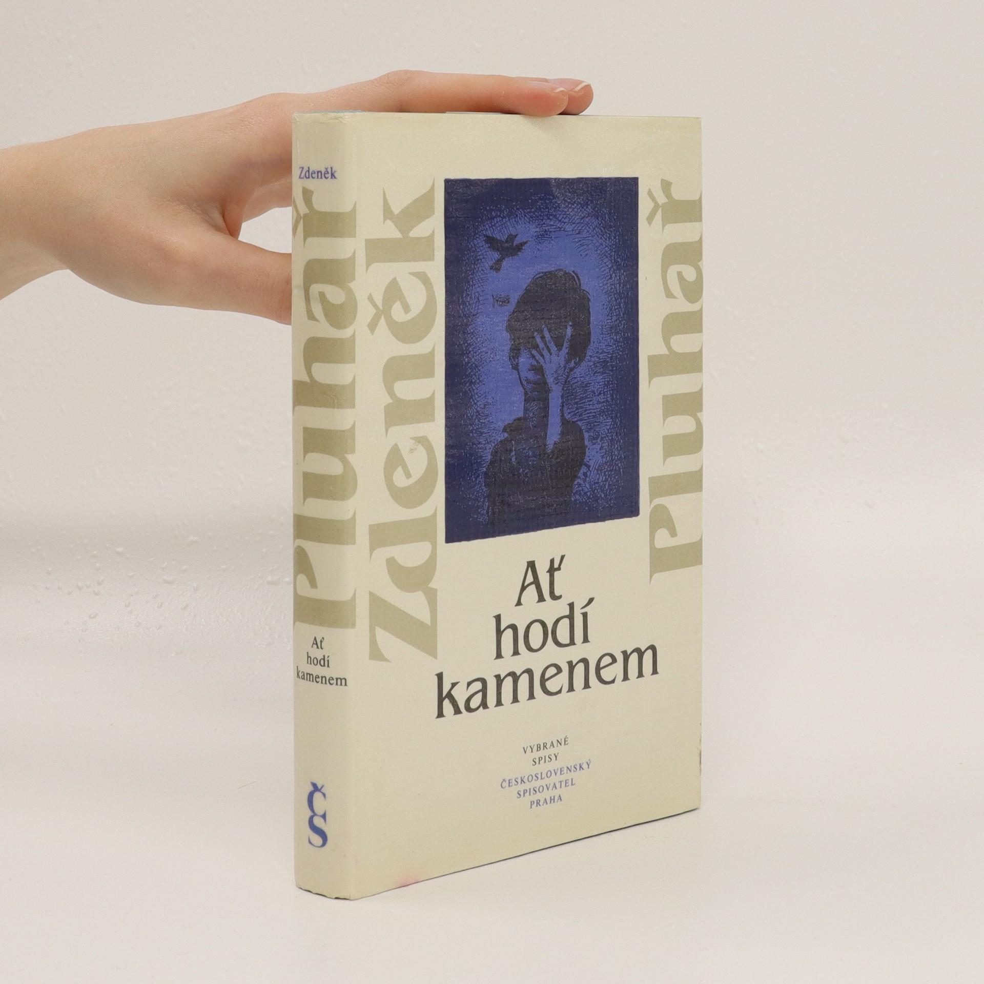 antikvární kniha Ať hodí kamenem, 1986
