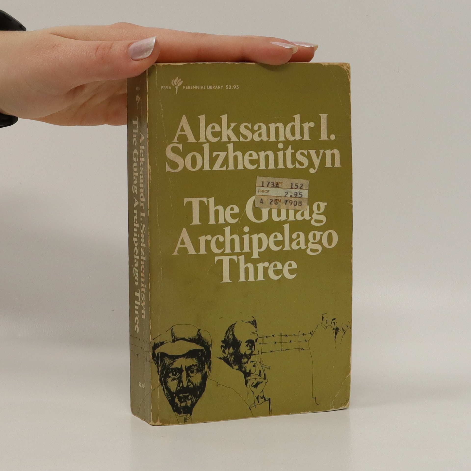 antikvární kniha The Gulag Archipelago Three, neuveden