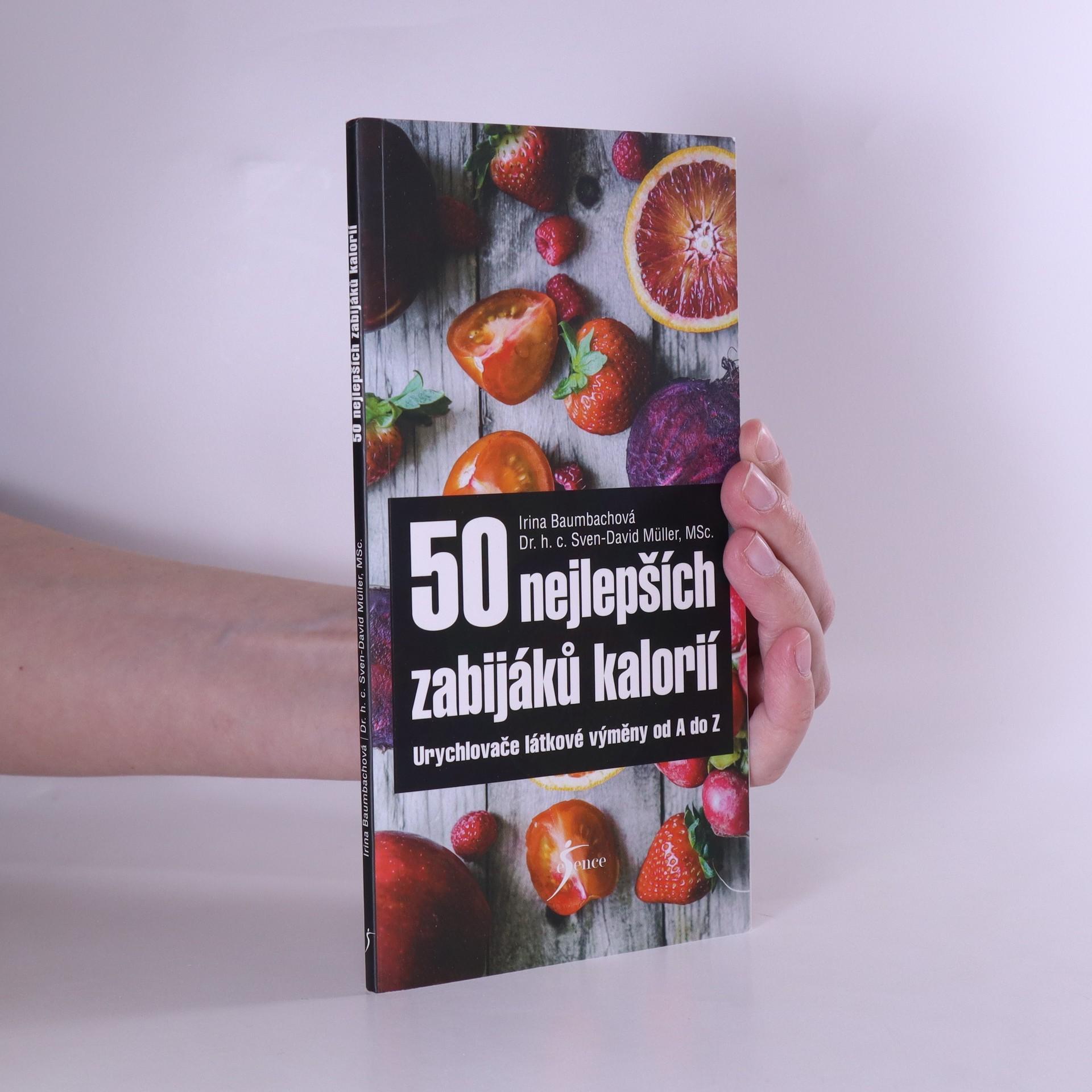 antikvární kniha 50 nejlepších zabijáků kalorií, 2019