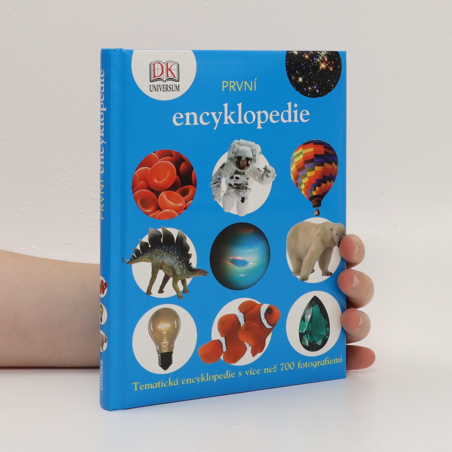 antikvární kniha První encyklopedie, 2008