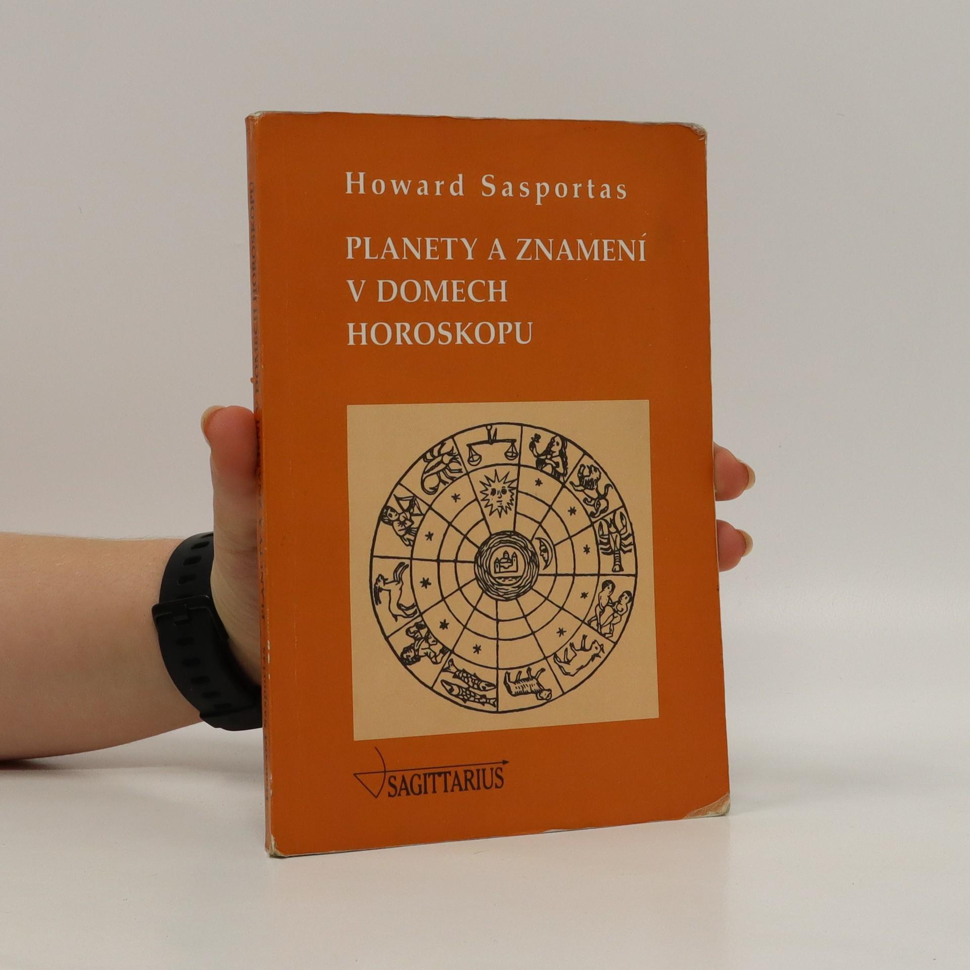 antikvární kniha Planety a znamení v domech horoskopu, 1998