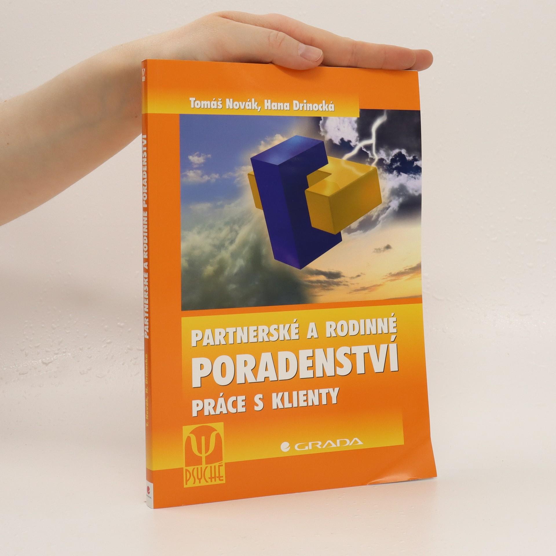 antikvární kniha Partnerské a rodinné poradenství : práce s klienty, 2006