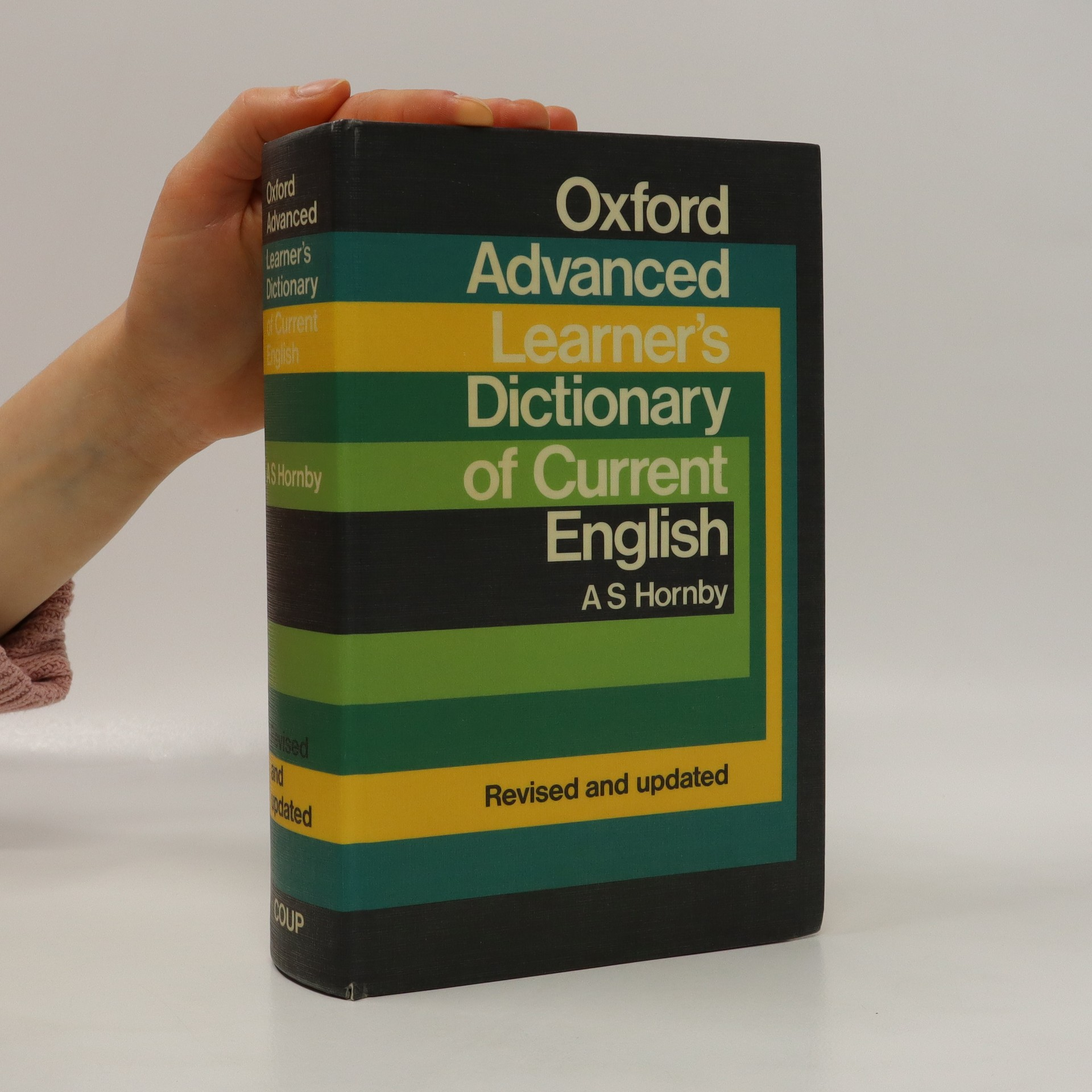 antikvární kniha Oxford advanced learner's dictionary of current English, 1983
