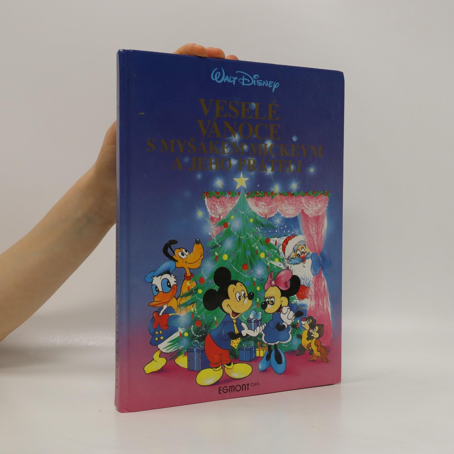 antikvární kniha Veselé Vánoce s myšákem Mickeym a jeho přáteli, 1992