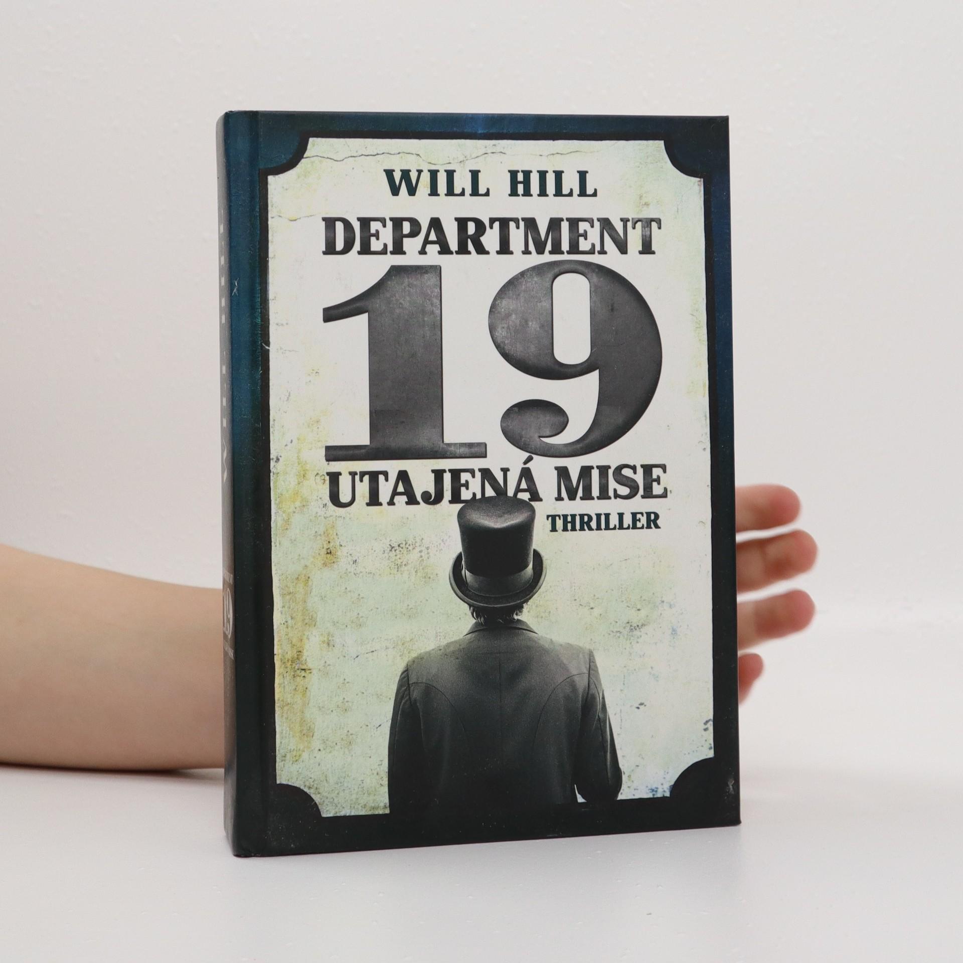 antikvární kniha Department 19 : utajená mise, 2013
