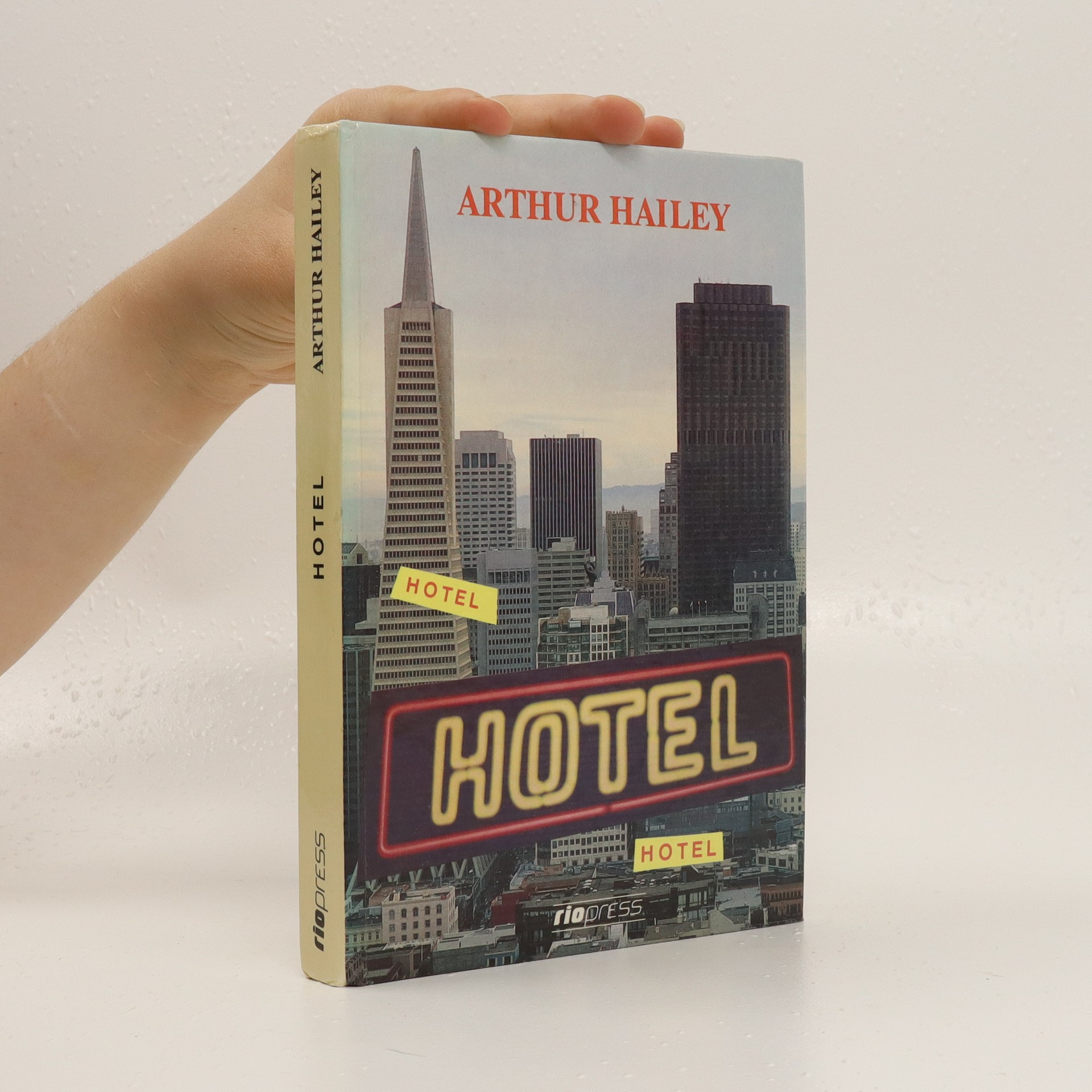 antikvární kniha Hotel, neuveden