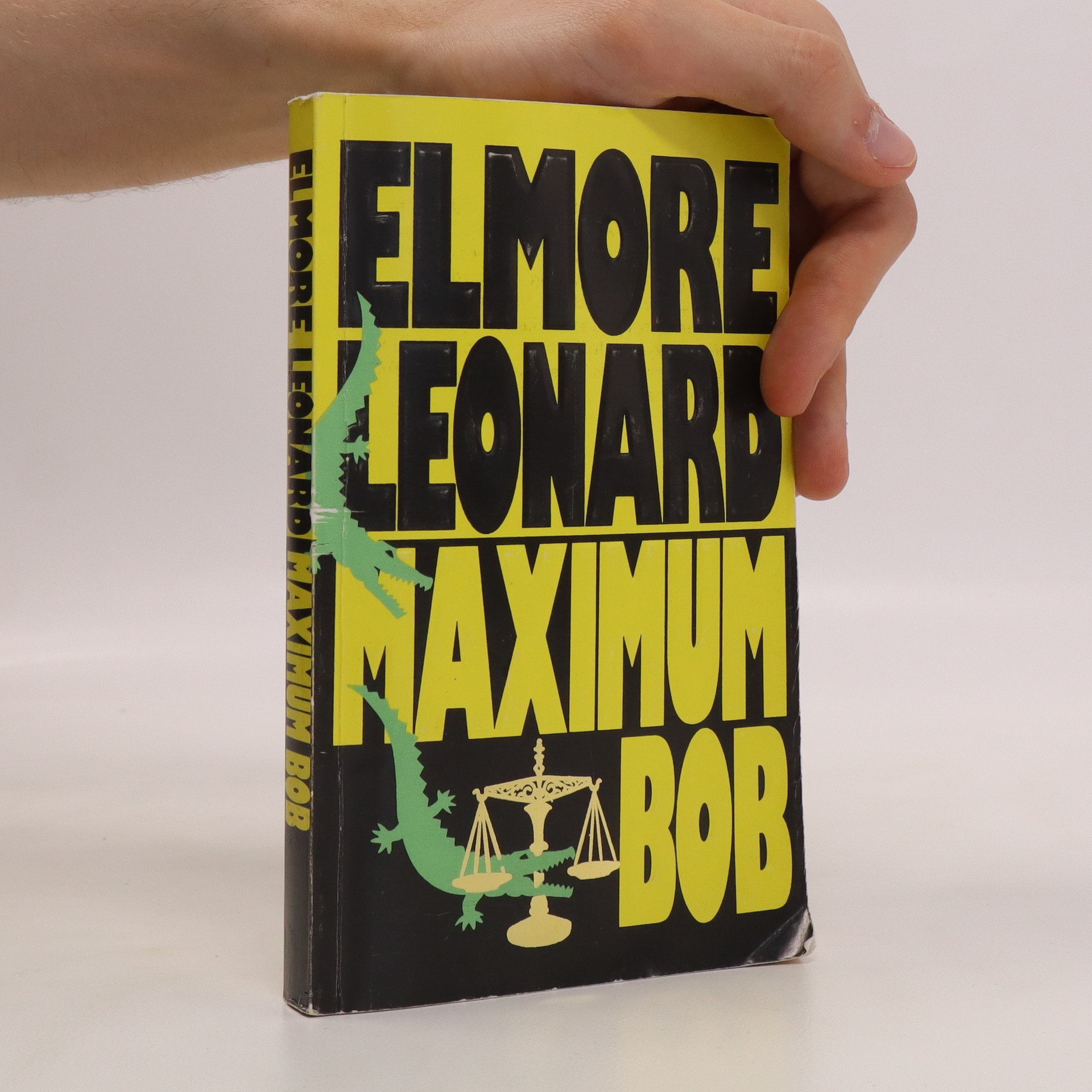 antikvární kniha Maximum Bob, 1992