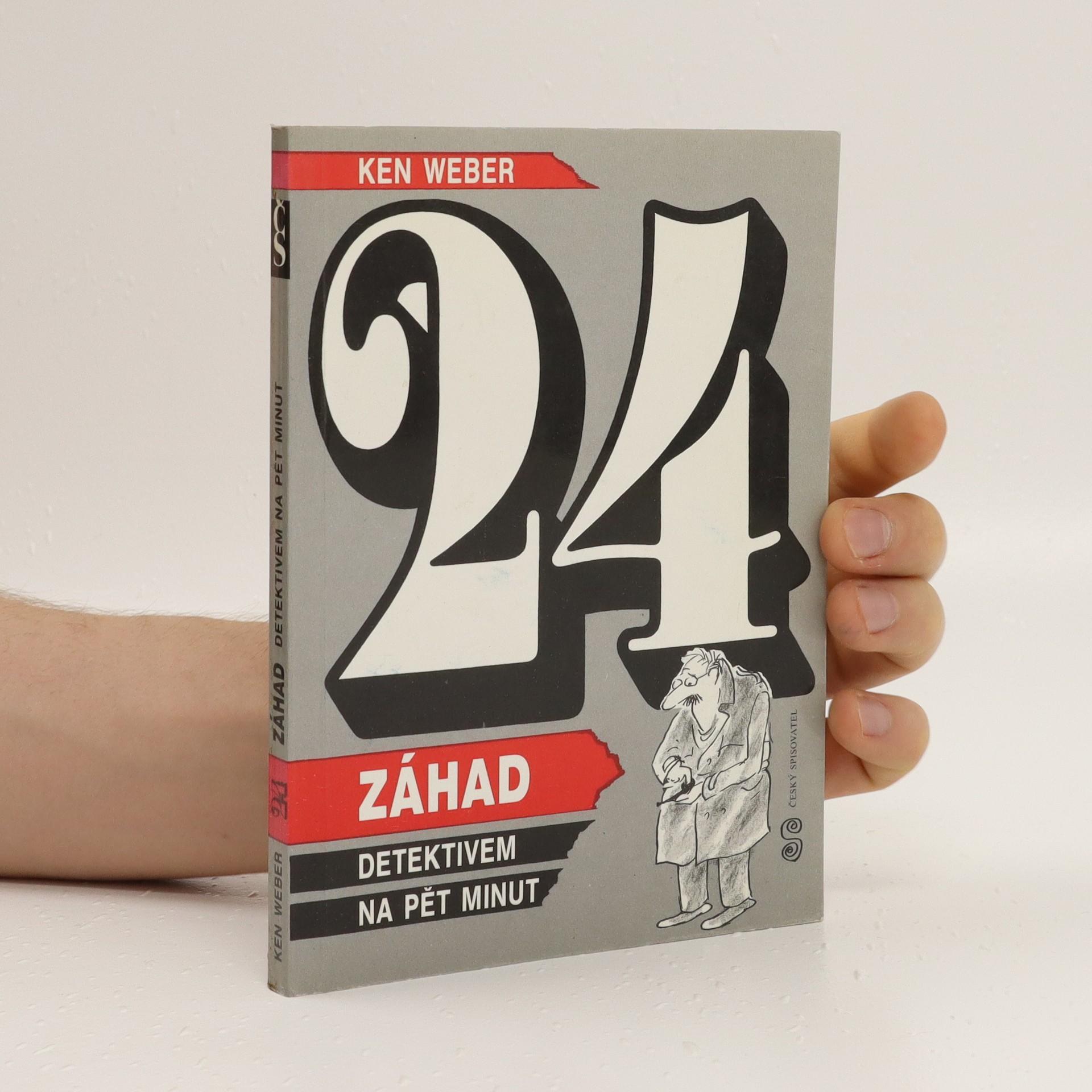antikvární kniha 24 záhad. Detektivem na pět minut., 1994